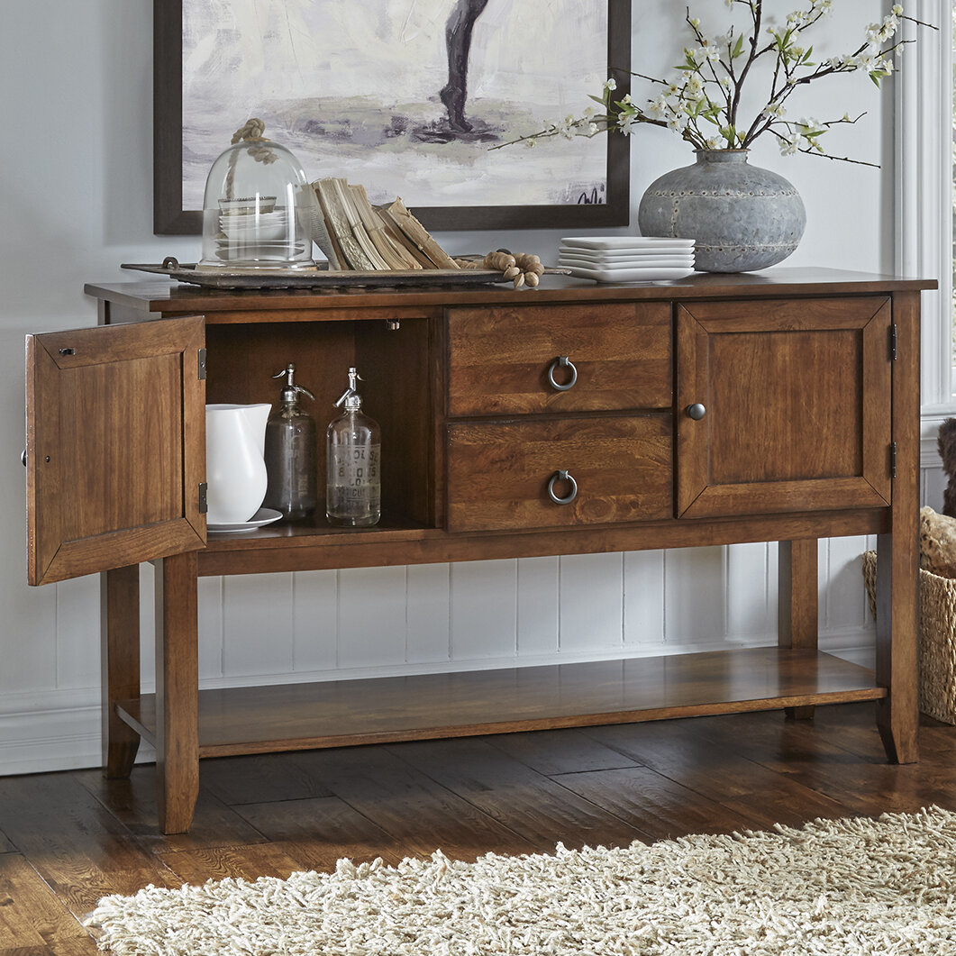 Transitional Buffet | Wayfair throughout Saucedo Rustic White Buffets (Image 27 of 30)
