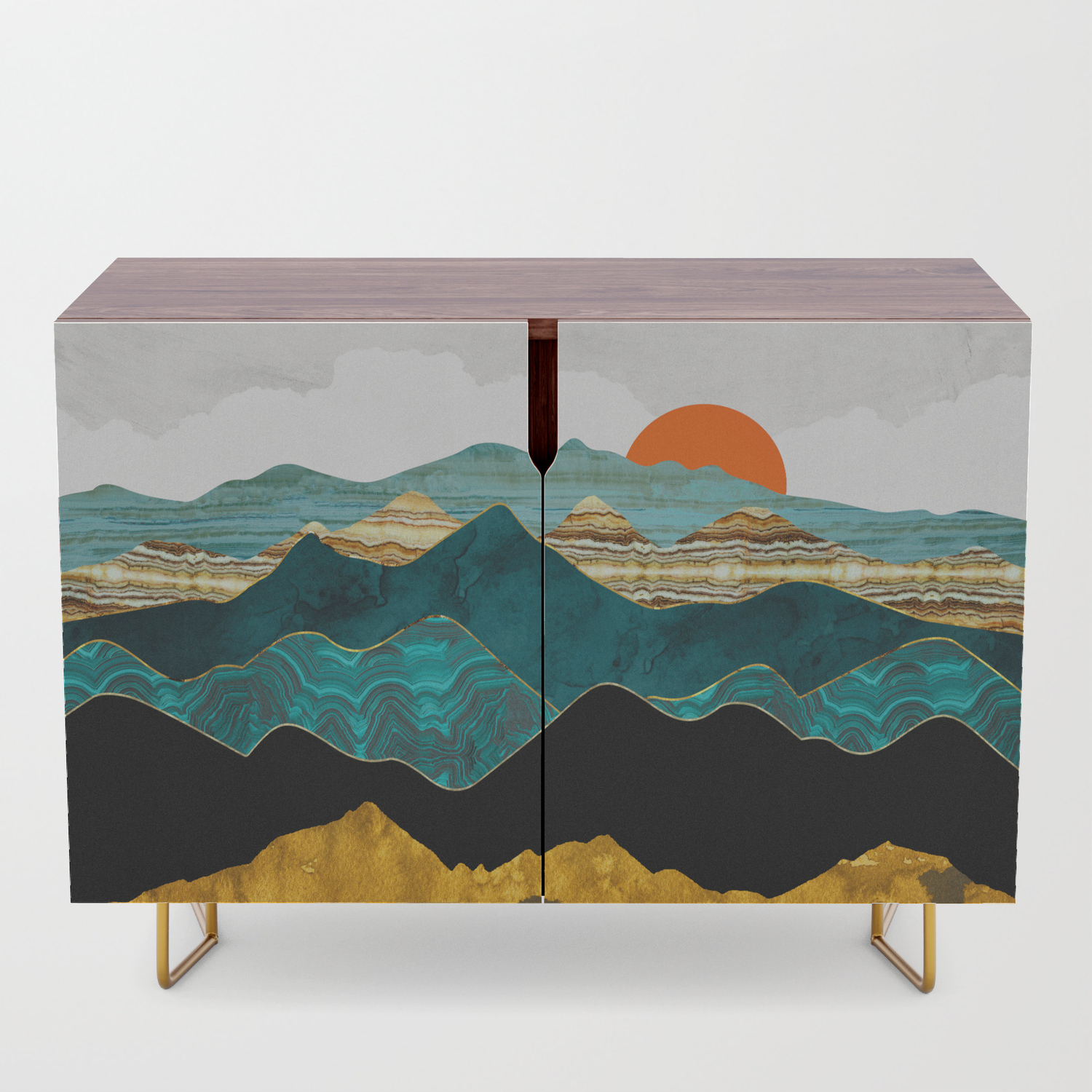 Turquoise Vista Credenza Within Turquoise Skies Credenzas (View 8 of 30)