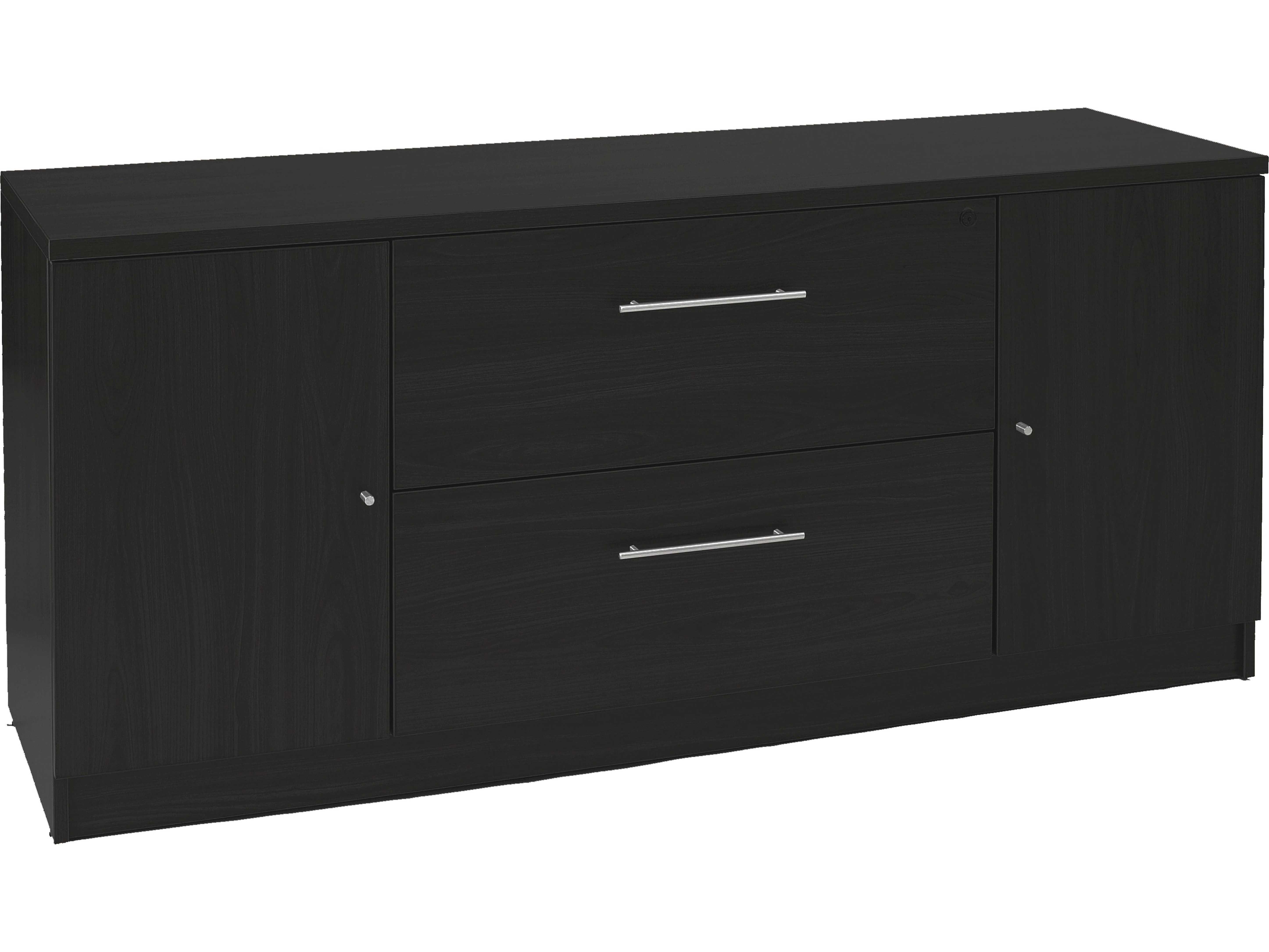 Unique Furniture 100 Series Espresso Credenza File Cabinet With Southwest Pink Credenzas (View 29 of 30)