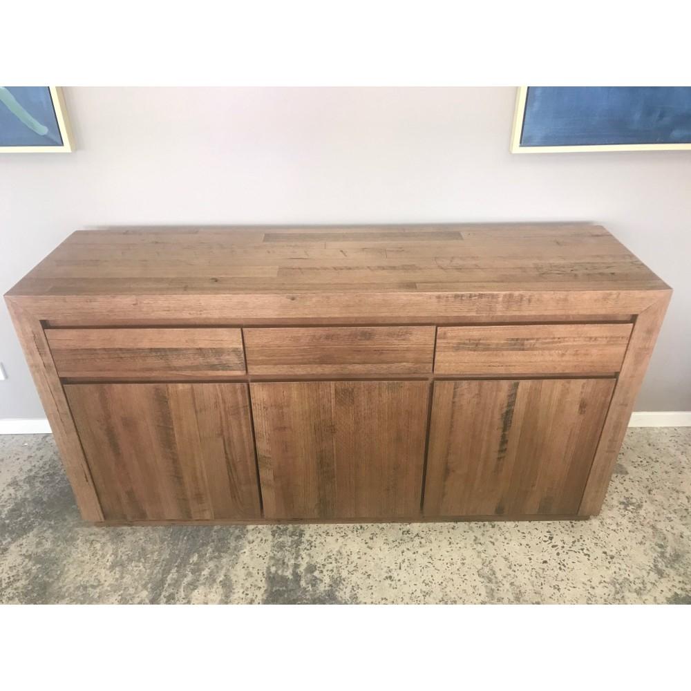 Urban 3 Drawer/ 3 Door Buffet Tasmanian Oak within 3-Drawer Storage Buffets (Image 28 of 30)
