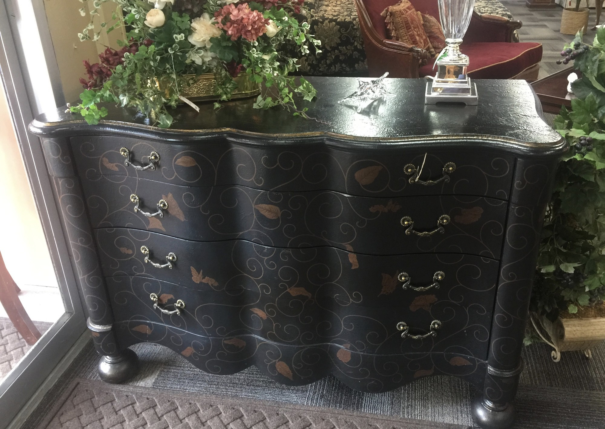Used Furniture Gallery For Copper Leaf Wood Credenzas (View 29 of 30)