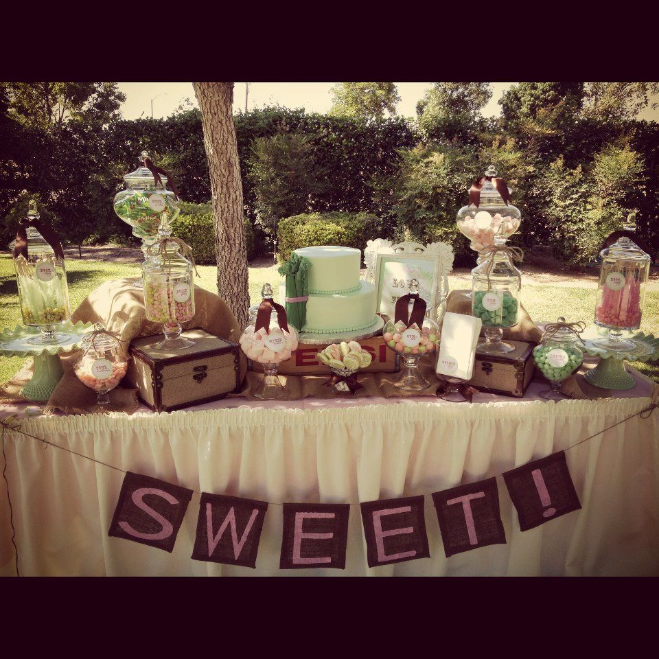 Vintage Dessert Buffet | Days For Girls Ideas In 2019 Within Saucedo Rustic White Buffets (View 28 of 30)