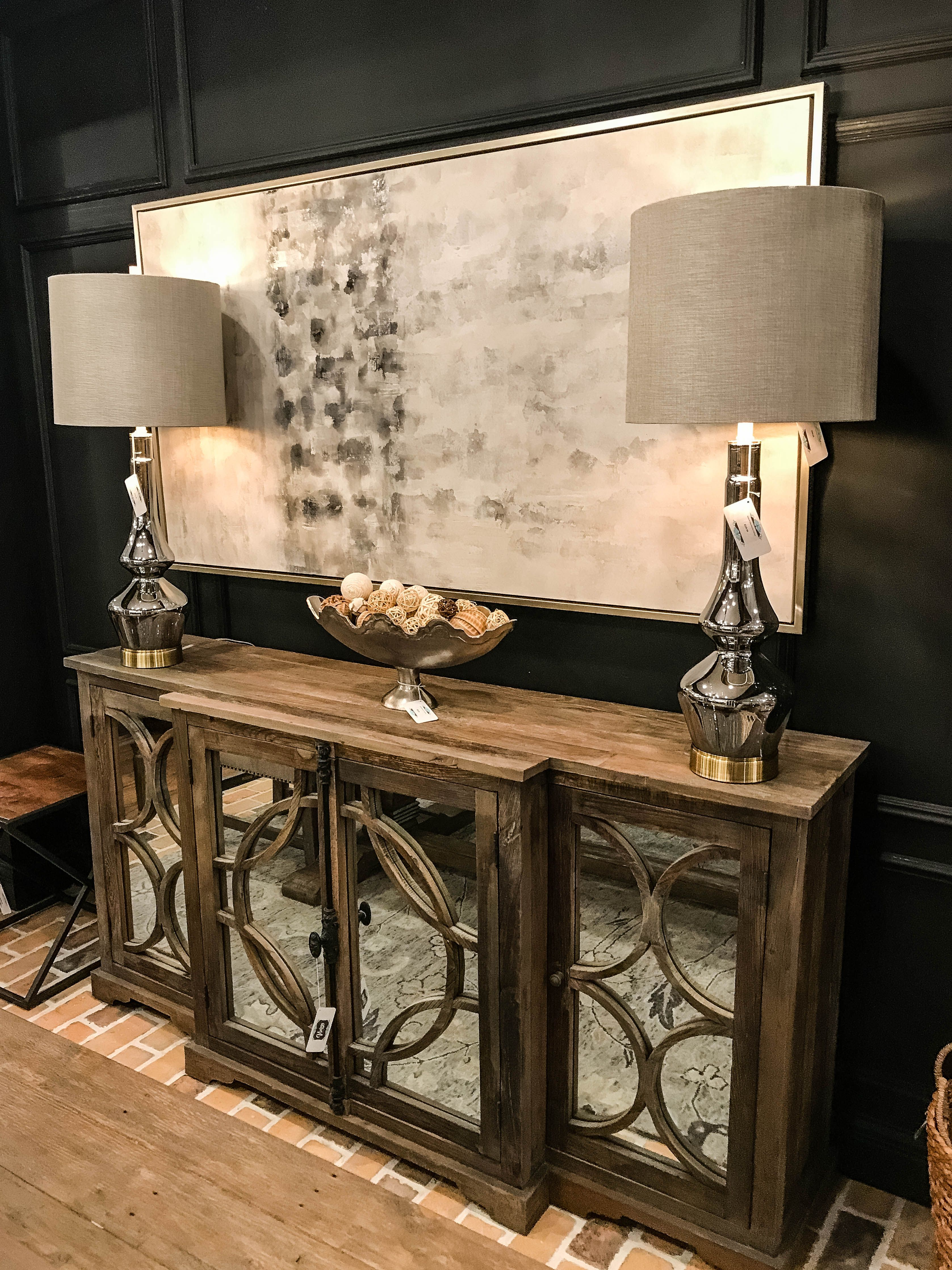 Warner 79 Elm Iron Mirror Front Sideboard – Artofit intended for Aberdeen Westin Sideboards (Image 27 of 30)