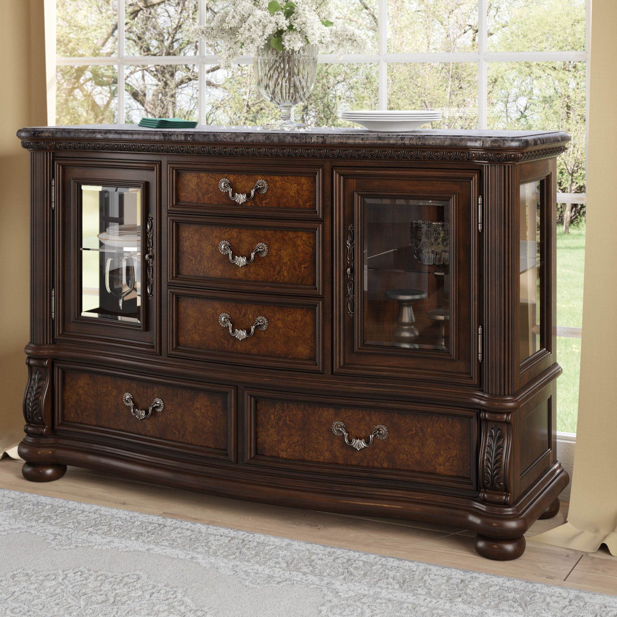 Weinberger Sideboard Pertaining To Chalus Sideboards (View 28 of 30)