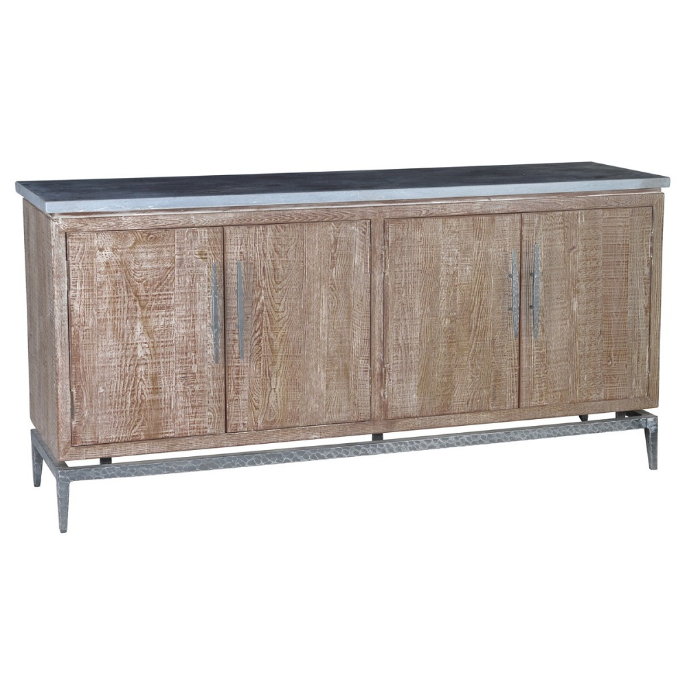 Wellsley 4 Door Sideboard Intended For Solana Sideboards (View 30 of 30)