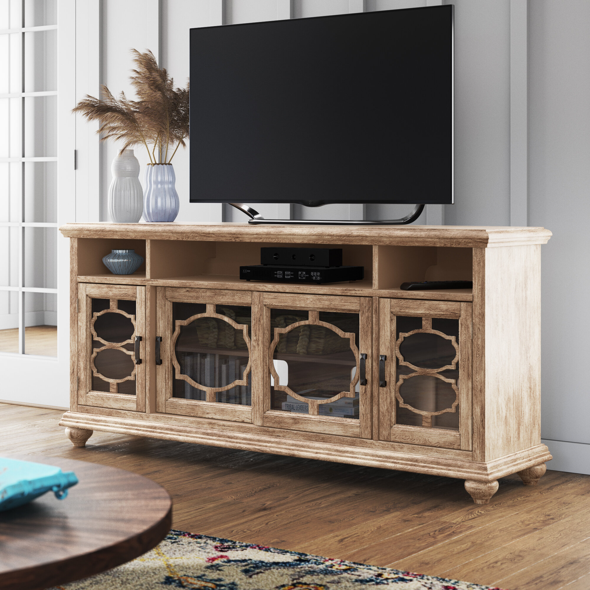 "West Newbury Tv Stand For Tvs Up To 70"" within Colefax Vintage Tv Stands for Tvs Up to 78"" (Image 30 of 30)"