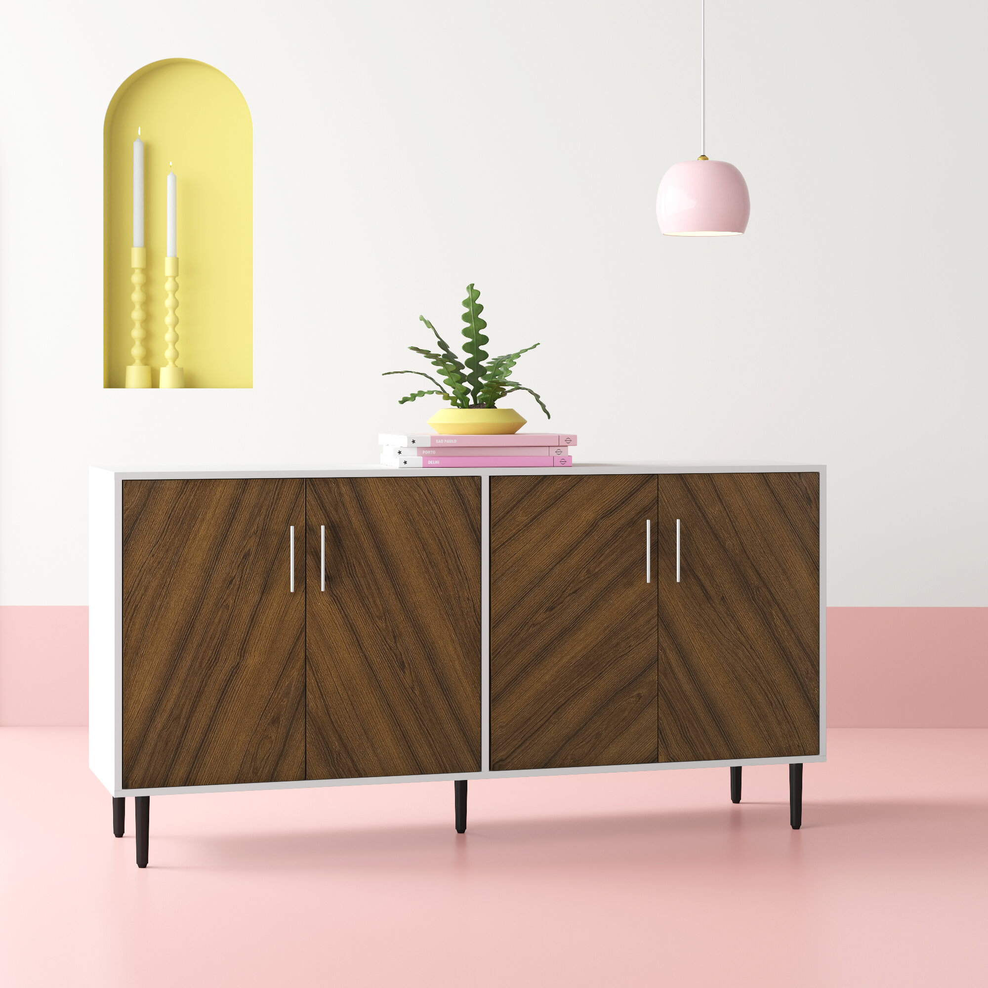 White Credenzas & Sideboards You'll Love In 2019 | Wayfair In Caines Credenzas (View 29 of 30)