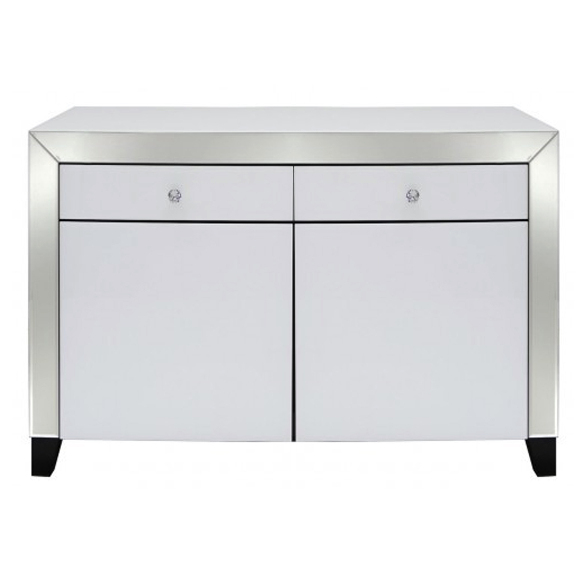 White Mirrored Sideboard pertaining to Thite Sideboards (Image 30 of 30)