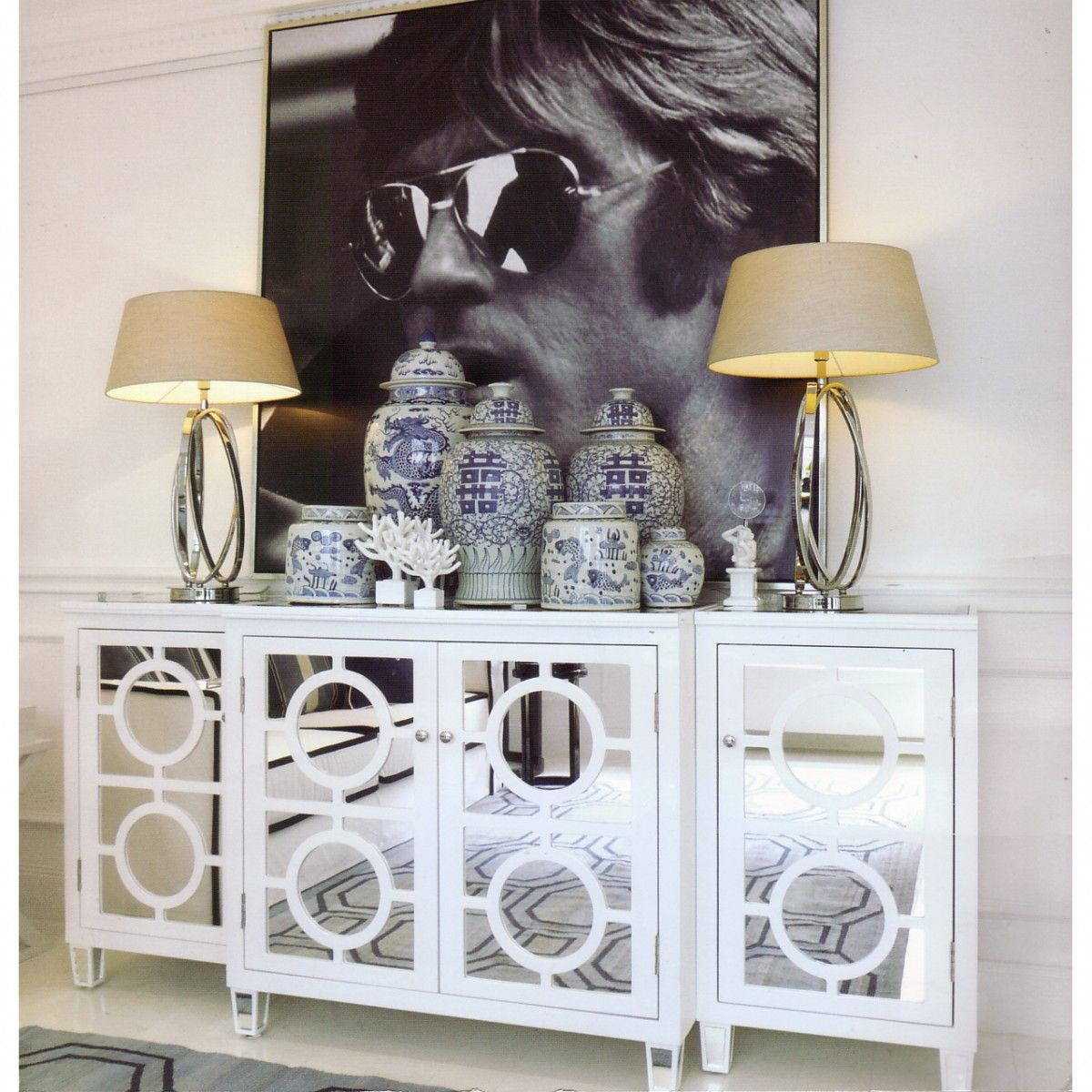 Featured Photo of 3 Piece Mirrored Buffets