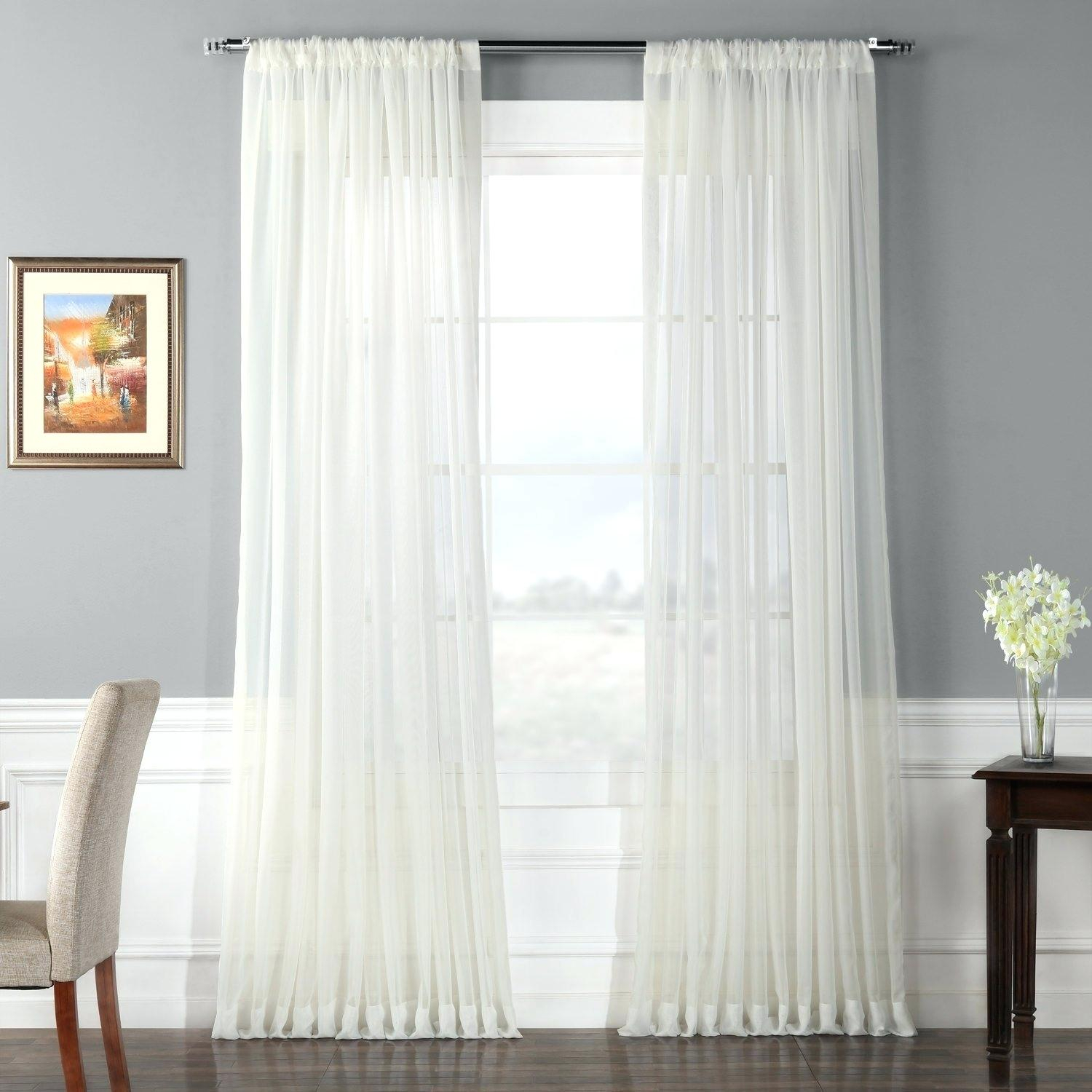 120 Wide Curtains – Lemelchior Within Signature Pinch Pleated Blackout Solid Velvet Curtain Panels (View 1 of 36)