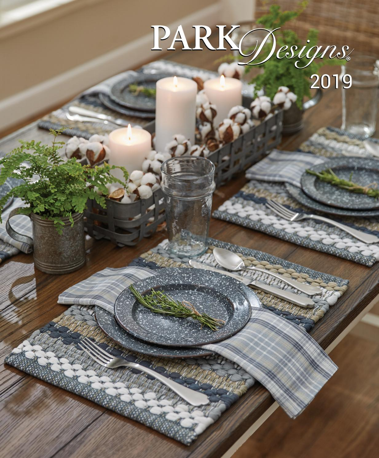 2019 Park Design Everyday Catalogmark West – Issuu With Gray Barn Dogwood Floral Curtain Panel Pairs (View 18 of 20)