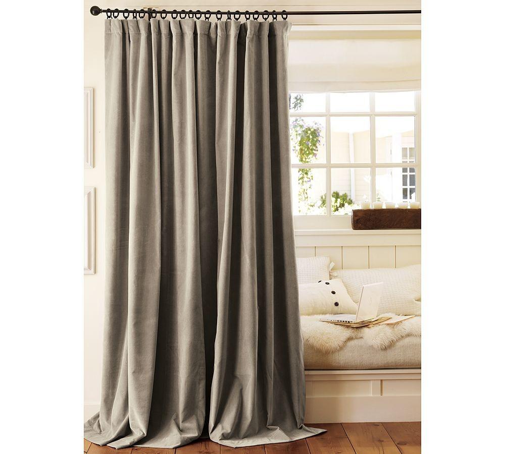 42 Dream Velvet Drapes Curtains That Will Accommodate Your Regarding Signature Ivory Velvet Blackout Single Curtain Panels (View 2 of 34)