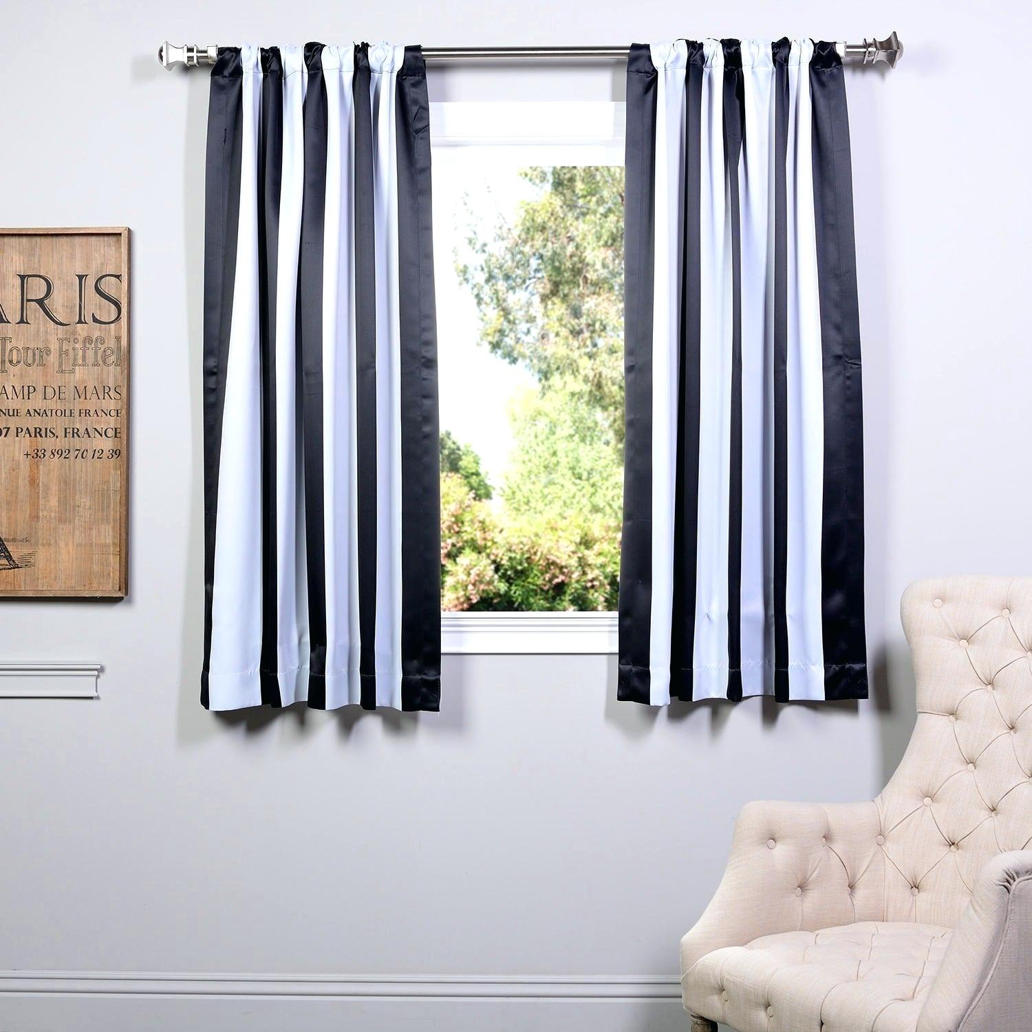 63 Blackout Curtains Eclipse White Inch Solid Thermal With Regard To Solid Thermal Insulated Blackout Curtain Panel Pairs (Gallery 25 of 30)