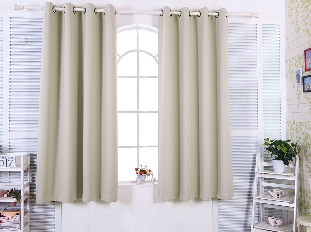 """72"""" Tripoli Premium Solid Insulated Thermal Blackout Grommet Window Panels – In Solid Insulated Thermal Blackout Curtain Panel Pairs (View 18 of 30)"""