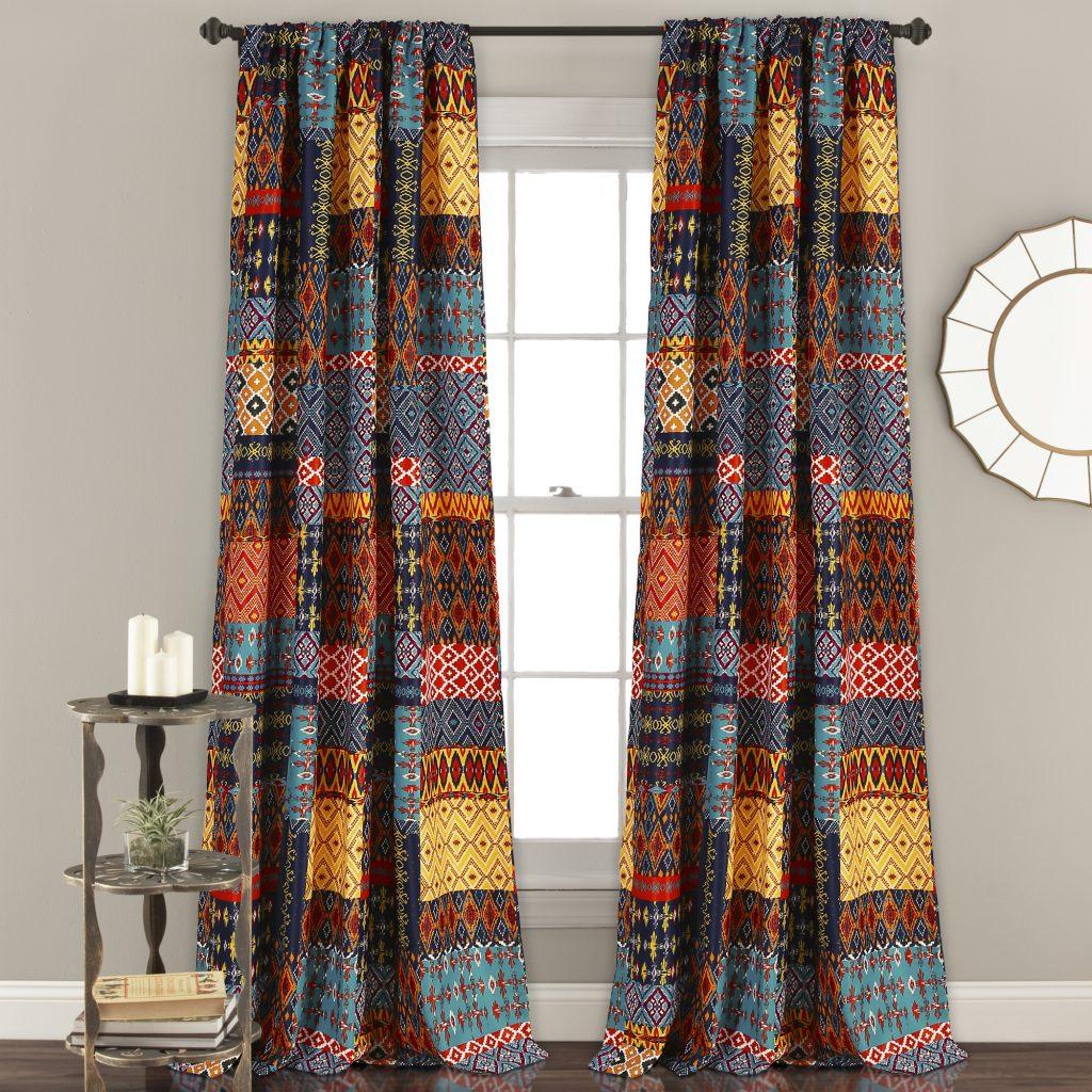 84'x52' Misha Room Darkening Window Curtain Set Regarding Dolores Room Darkening Floral Curtain Panel Pairs (View 20 of 20)