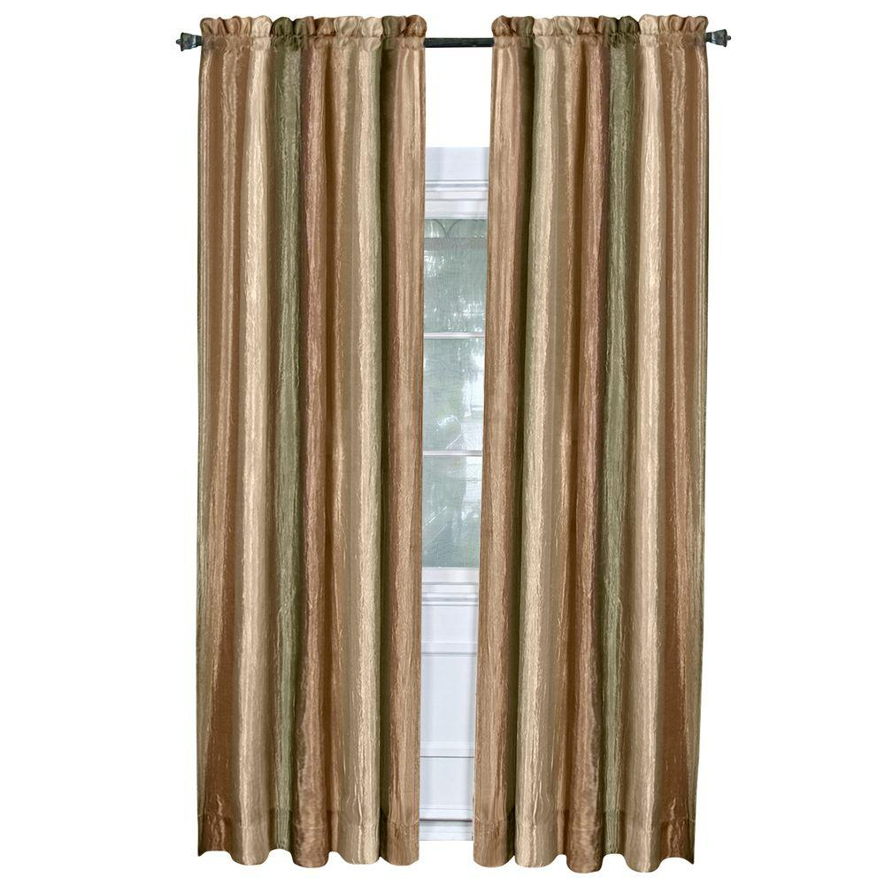 Achim Semi Opaque Ombre Earth Polyester Panel Curtain – 50 In. W X 84 In (View 19 of 20)