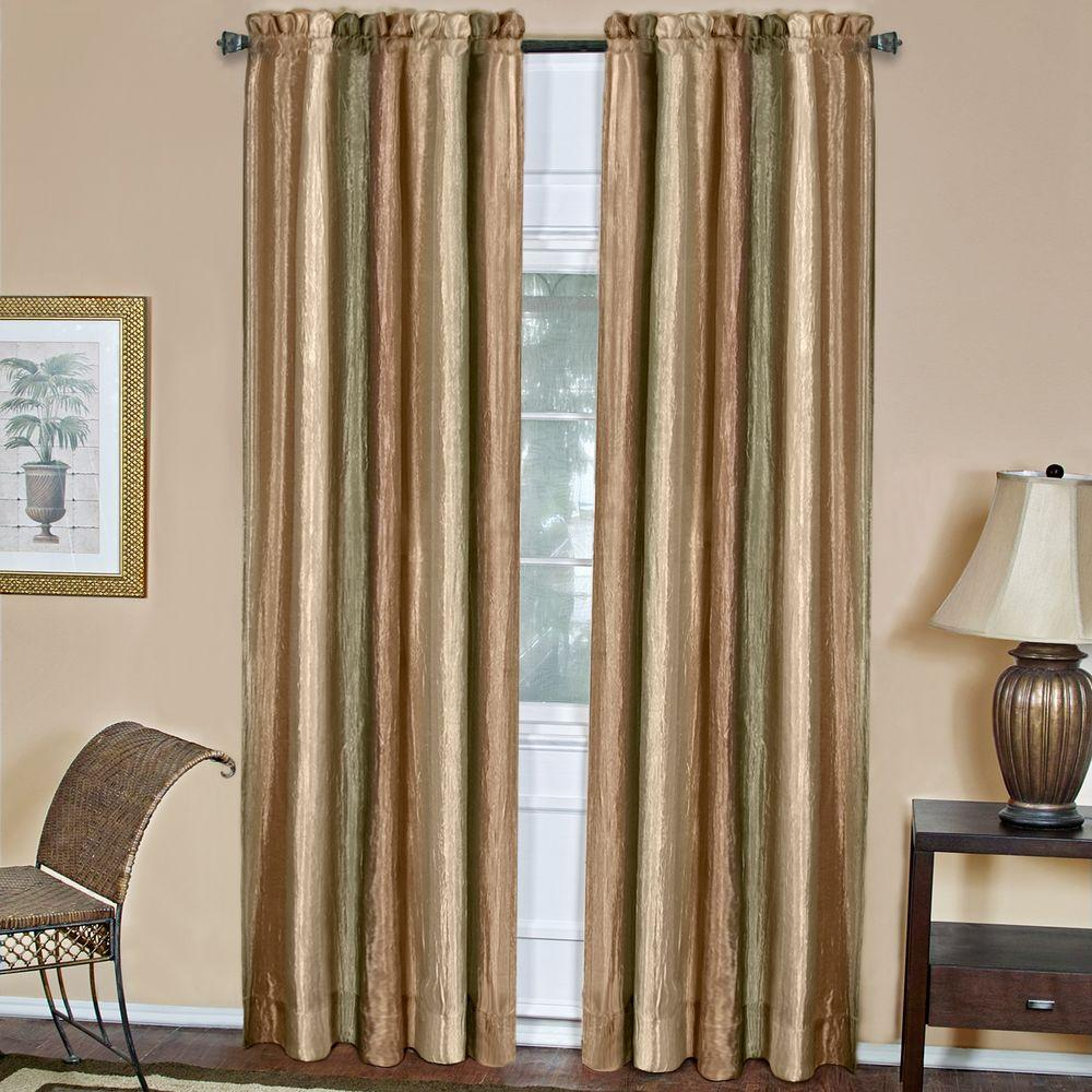 Achim Semi Opaque Ombre Earth Polyester Panel Curtain – 50 In. W X 84 In (View 10 of 20)