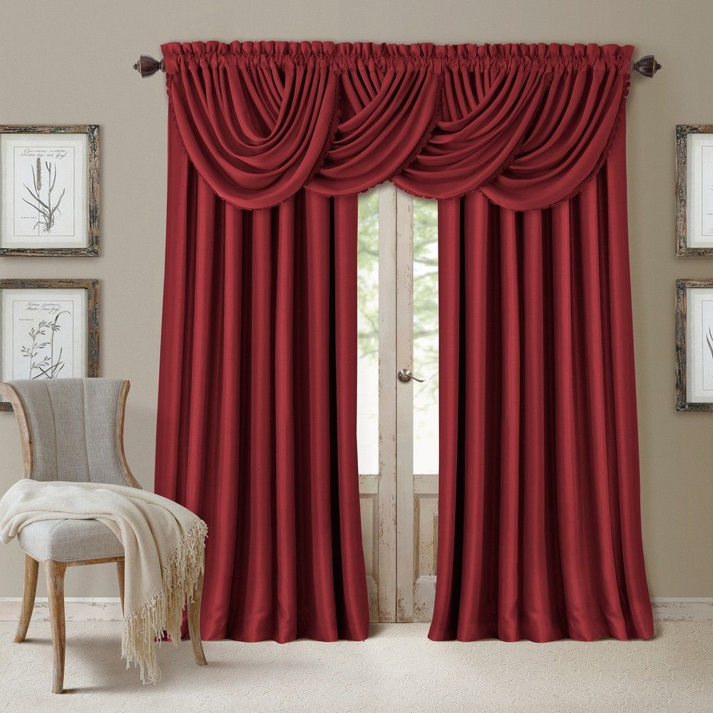 """All Seasons Blackout Window Curtain Panel – 52"""" X 108 In Elrene Versailles Pleated Blackout Curtain Panels (View 9 of 20)"""