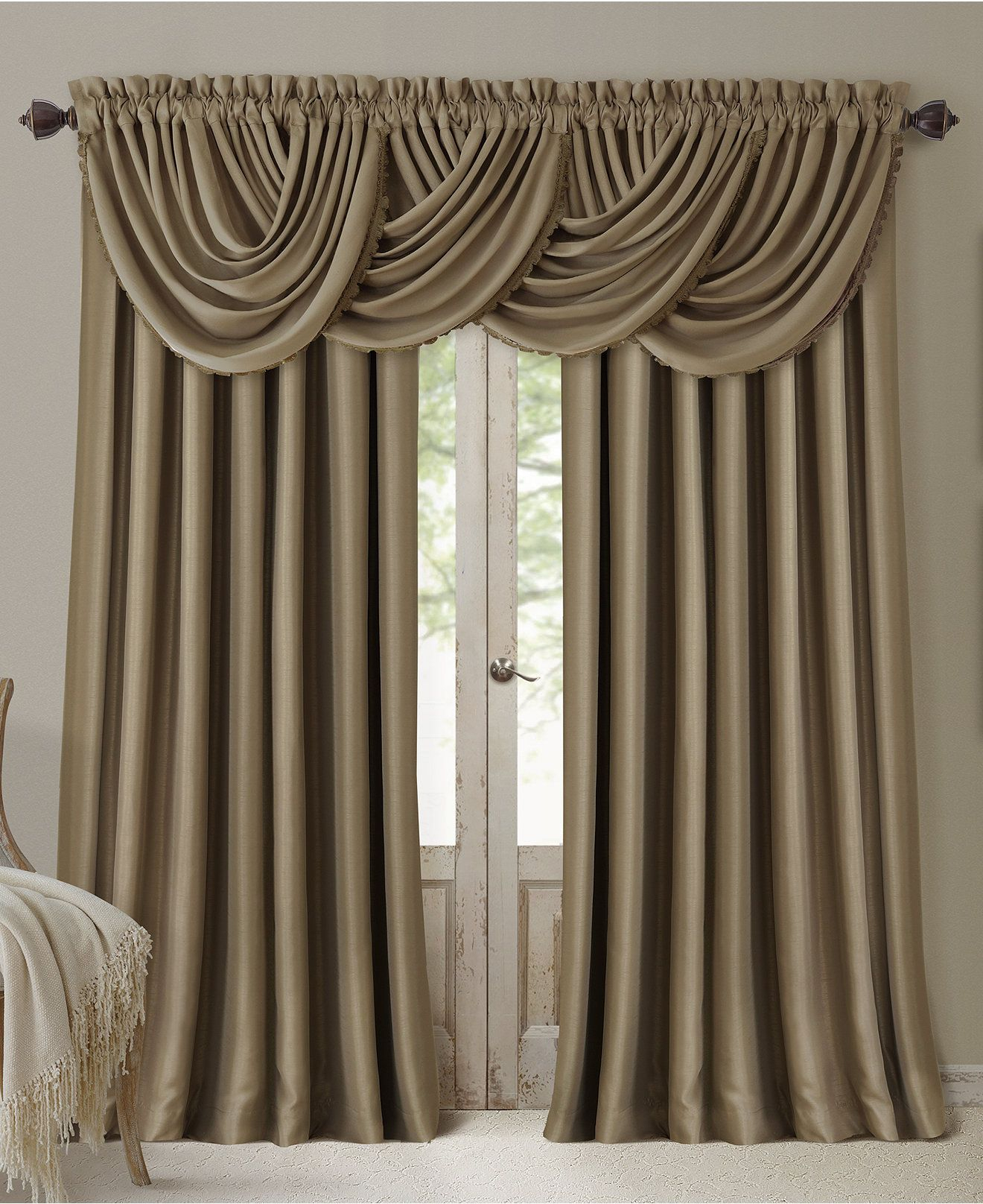 All Seasons Faux Silk Blackout Window Panel Collection Intended For Elrene Versailles Pleated Blackout Curtain Panels (View 13 of 20)