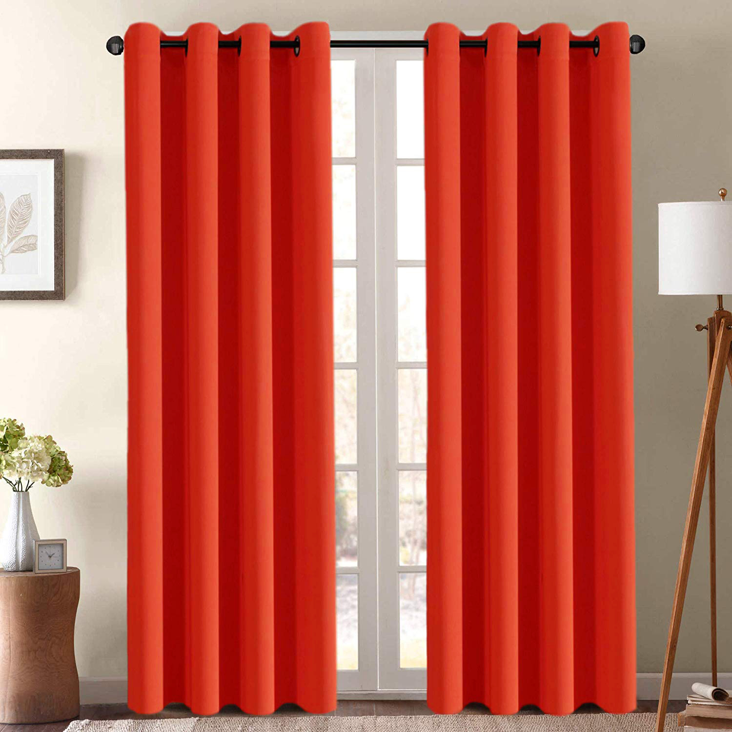Alphabet Deal   2 Pack Faux Silk Curtain Panels – Assorted C  Price : $ (View 14 of 20)