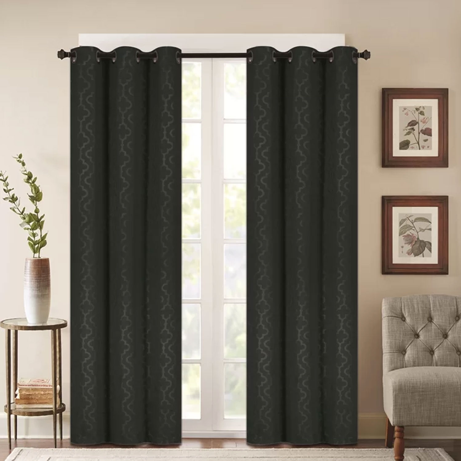 Alphabet Deal | 2 Panels Madison Embossed Thermal Energy Sav| Price : $ (View 1 of 30)
