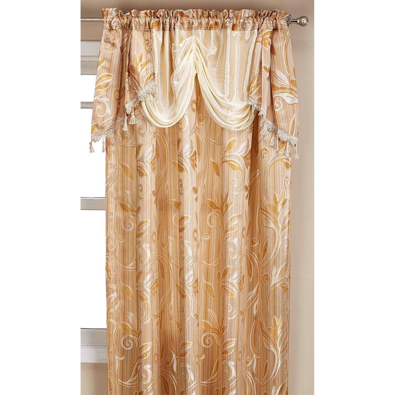 Alphabet Deal   Elegance Linen Luxury Jacquard Curtain Panel  Price : $ (View 8 of 20)