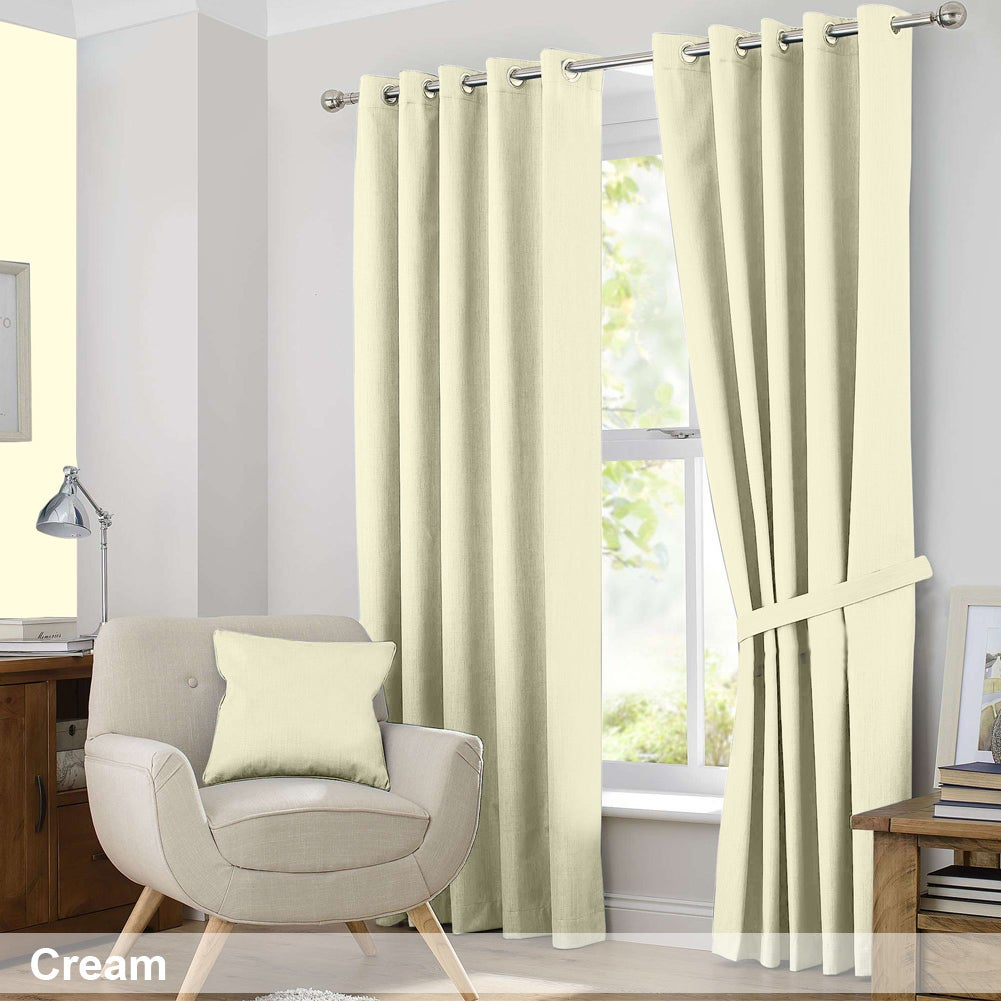 Ample Decor Blackout Curtain Panel Pair Throughout Tuscan Thermal Backed Blackout Curtain Panel Pairs (View 6 of 30)