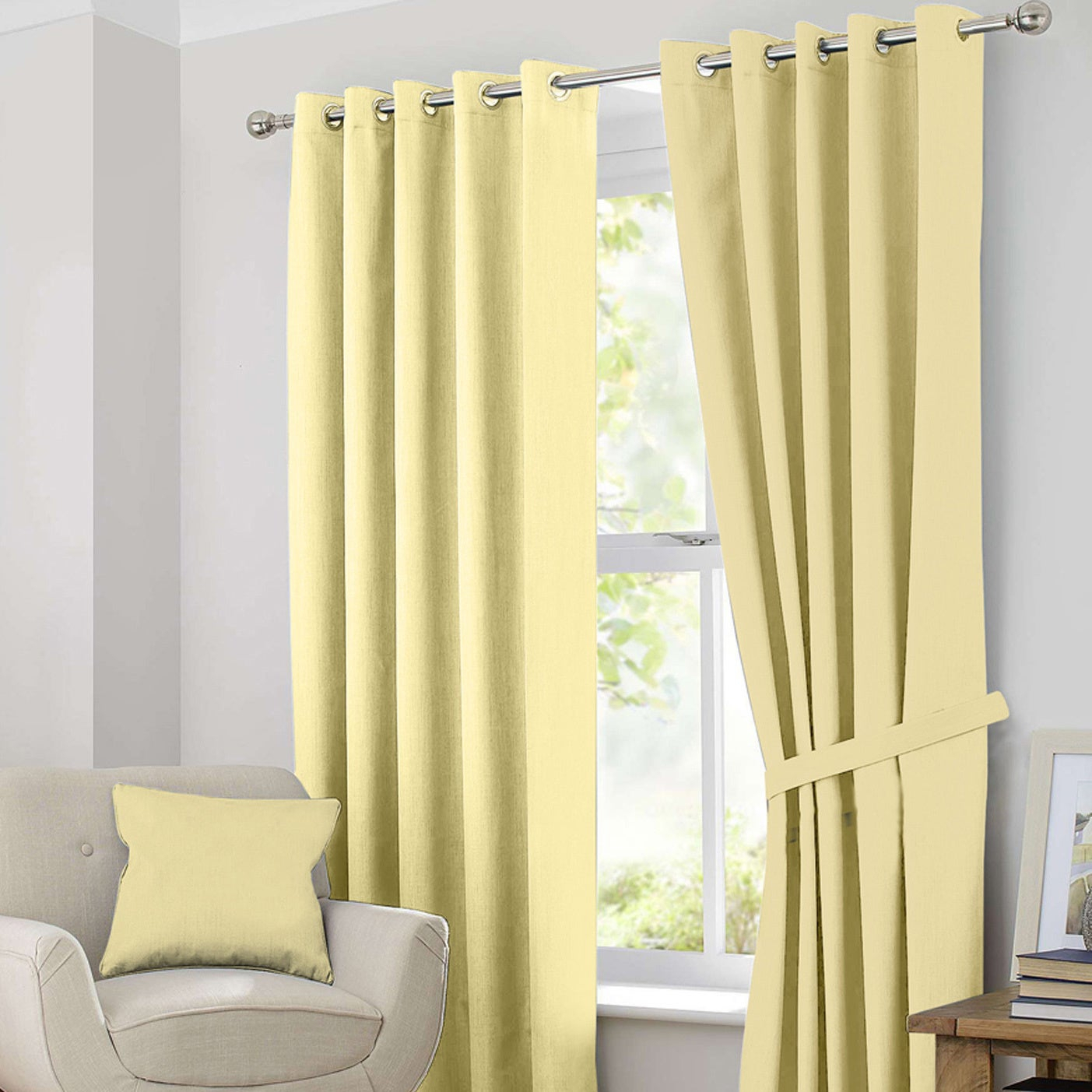 Ample Decor Blackout Curtain Panel Pair Throughout Tuscan Thermal Backed Blackout Curtain Panel Pairs (View 4 of 30)