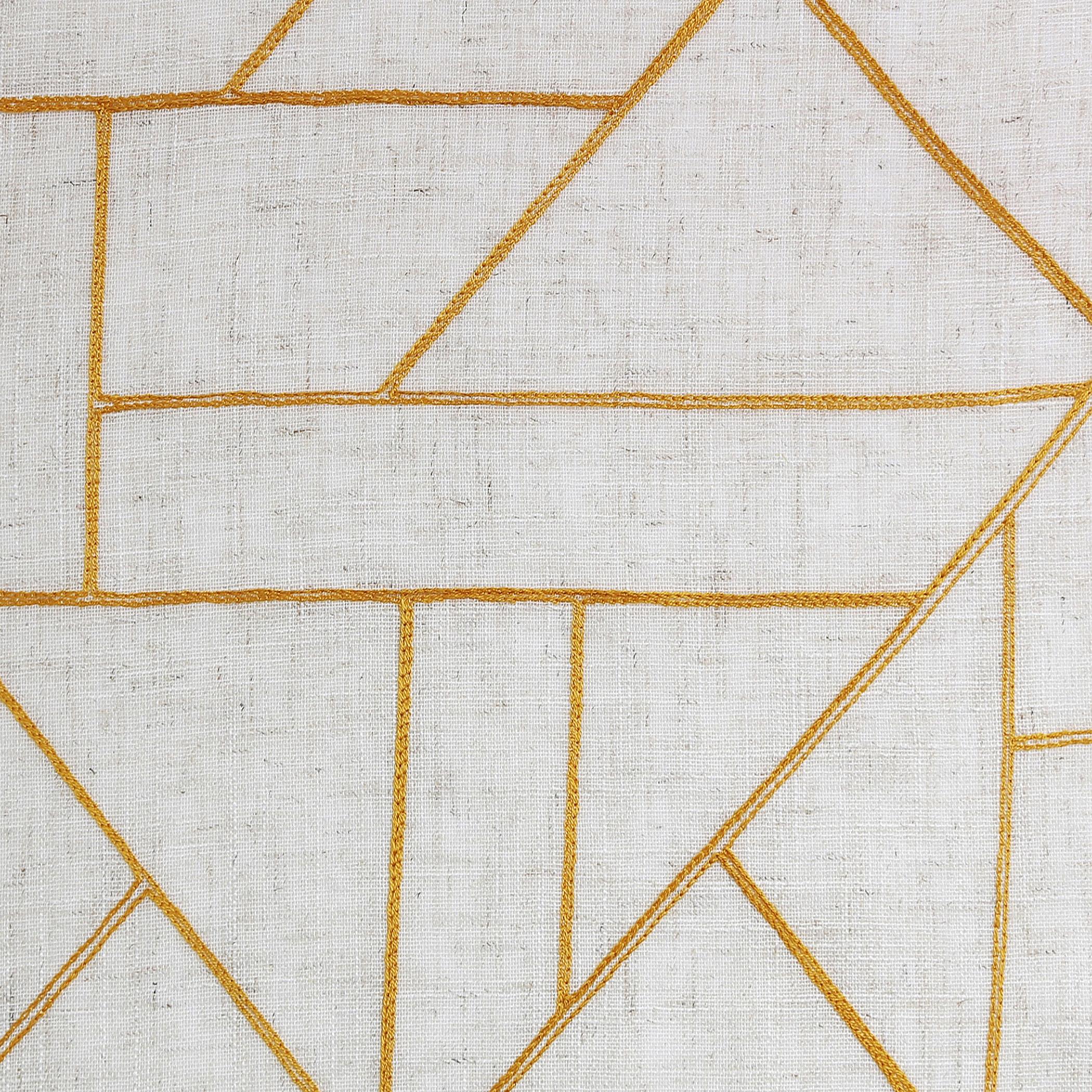 Archaeo Jigsaw Embroidery Linen Blend Curtain – Walmart With Regard To Archaeo Jigsaw Embroidery Linen Blend Curtain Panels (Image 6 of 20)