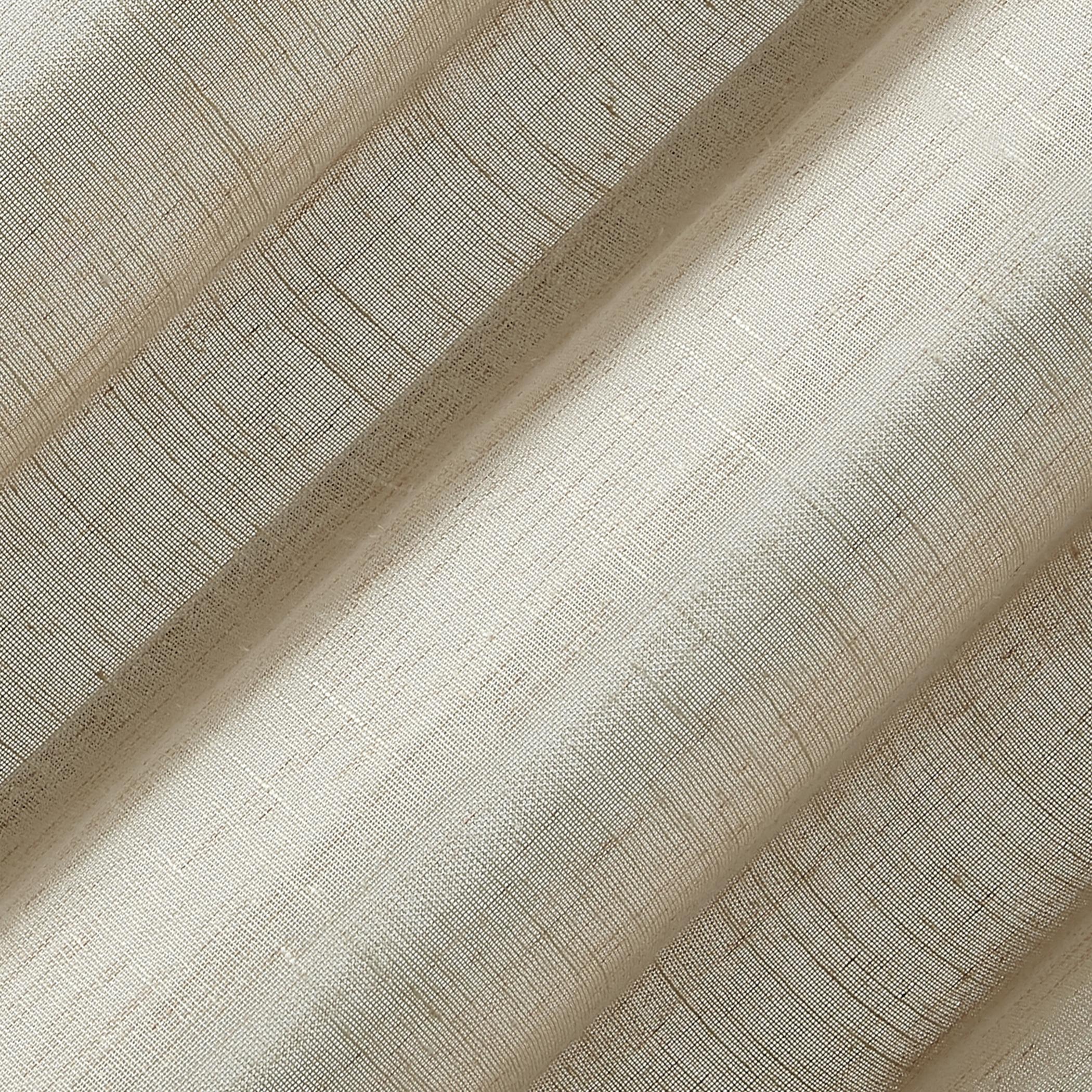 Archaeo Slub Textured Linen Blend Grommet Top Curtain Inside Archaeo Slub Textured Linen Blend Grommet Top Curtains (View 9 of 20)