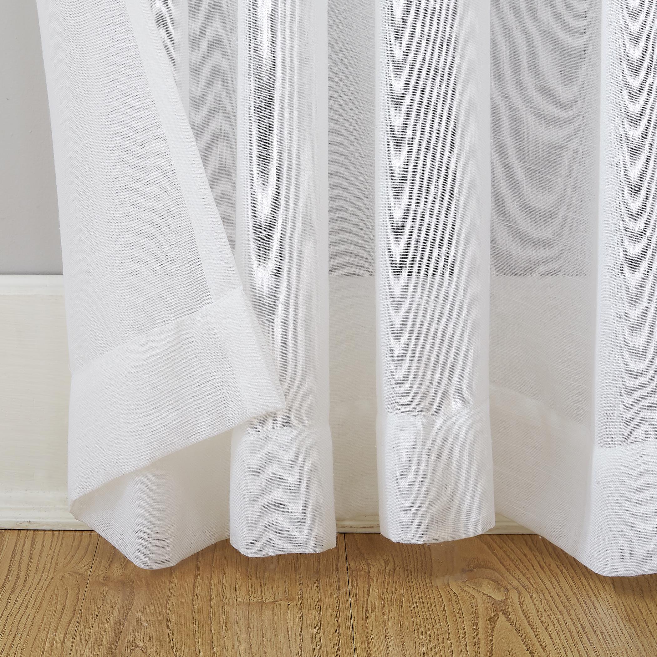 Archaeo Slub Textured Linen Blend Grommet Top Curtain With Regard To Archaeo Slub Textured Linen Blend Grommet Top Curtains (View 5 of 20)