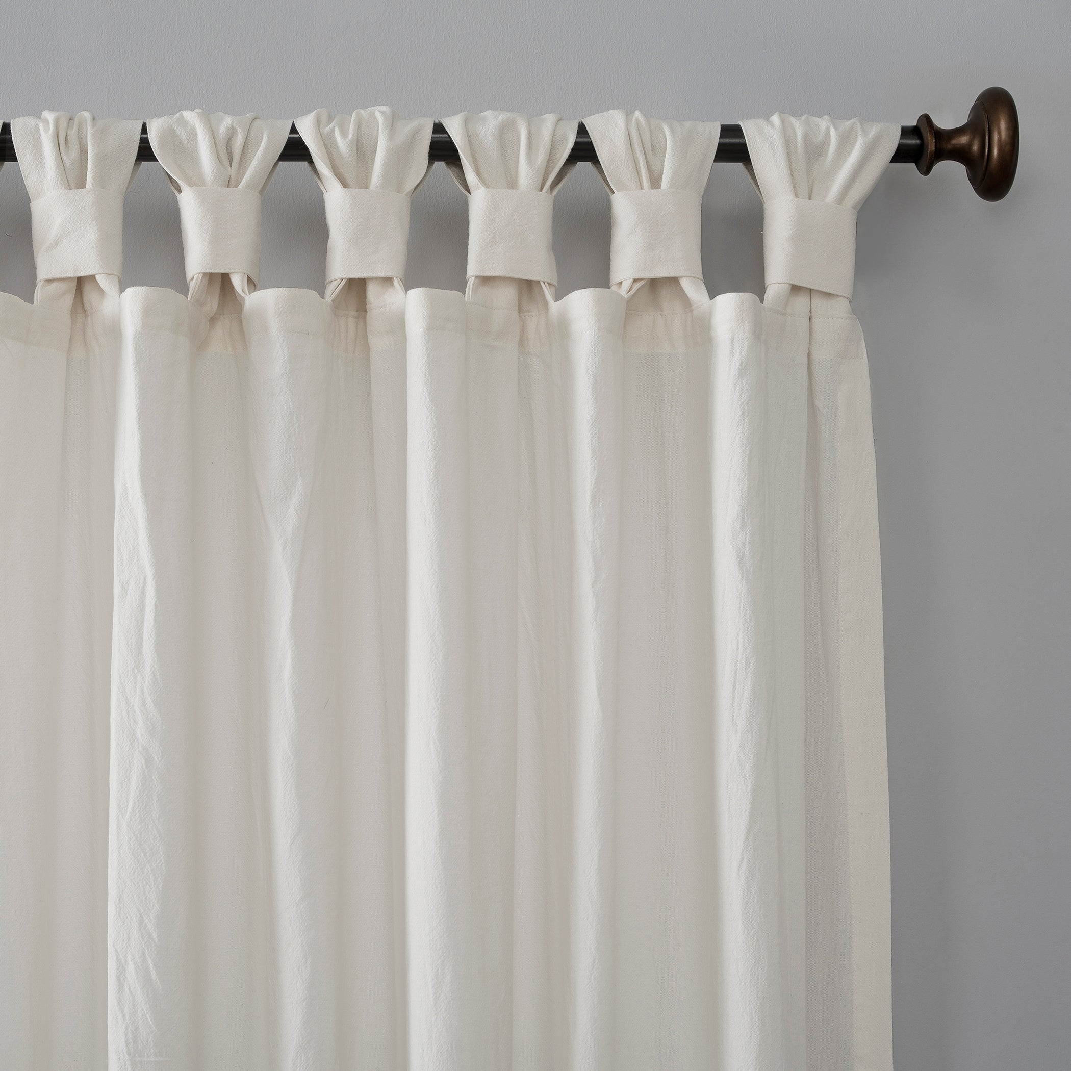Archaeo Washed Cotton Twist Tab Single Curtain Panel Intended For Archaeo Washed Cotton Twist Tab Single Curtain Panels (View 5 of 20)