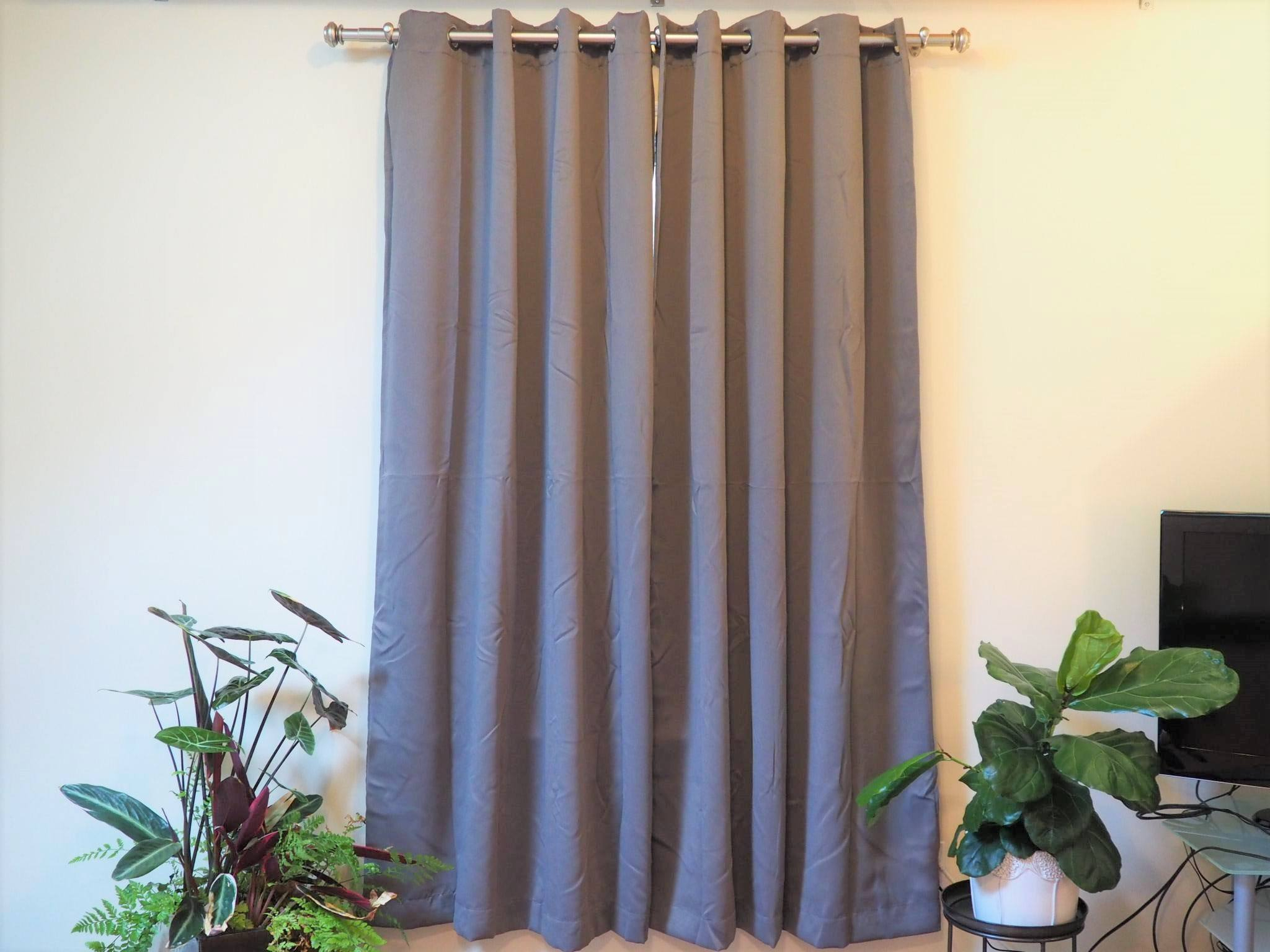 Are Blackout Curtains Toxic? Should You Avoid Them? | Sleep inside Ultimate Blackout Short Length Grommet Panels (Image 5 of 30)