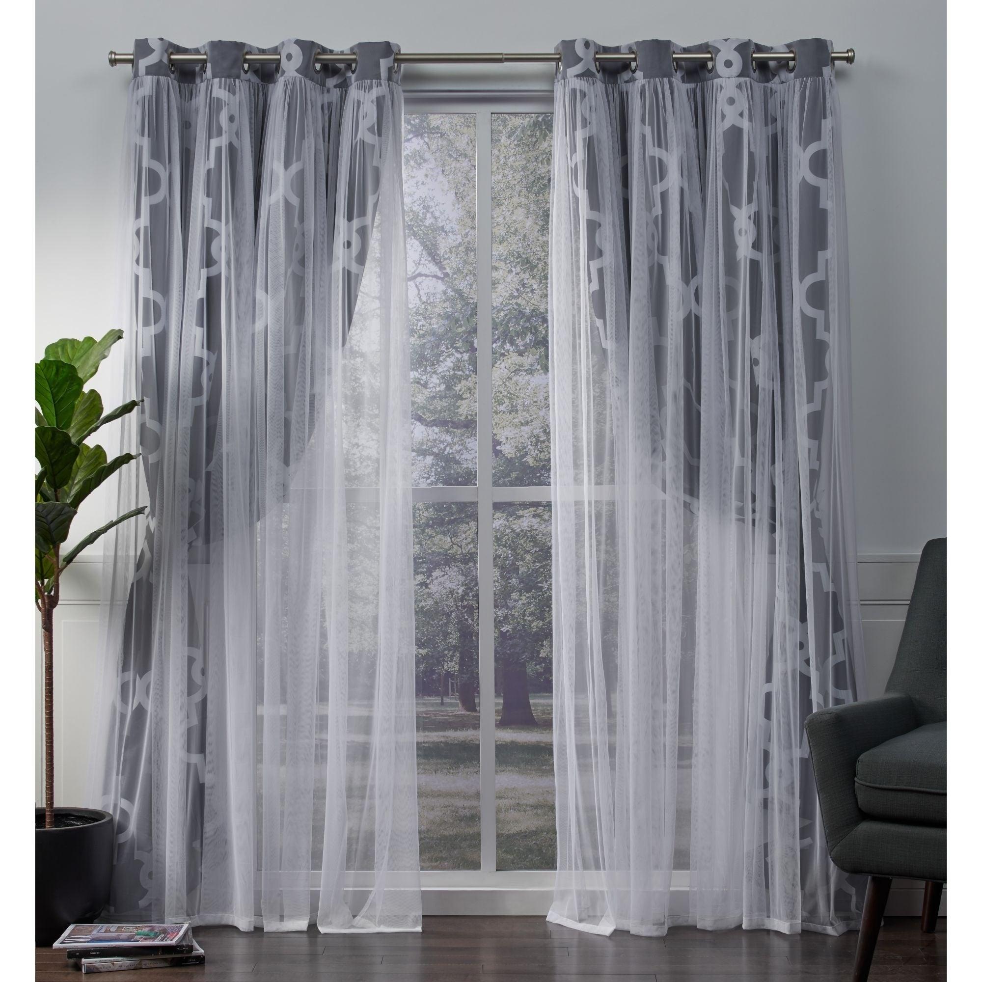 Ati Home Alegra Thermal Woven Blackout Grommet Top Curtain Panel Pair In Woven Blackout Grommet Top Curtain Panel Pairs (View 11 of 30)