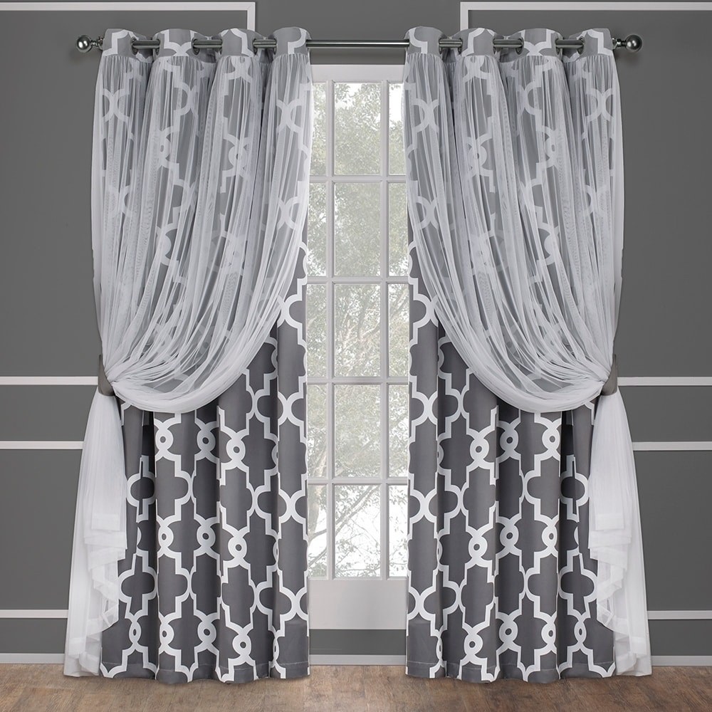 Ati Home Alegra Thermal Woven Blackout Grommet Top Curtain Pertaining To Thermal Woven Blackout Grommet Top Curtain Panel Pairs (View 10 of 30)