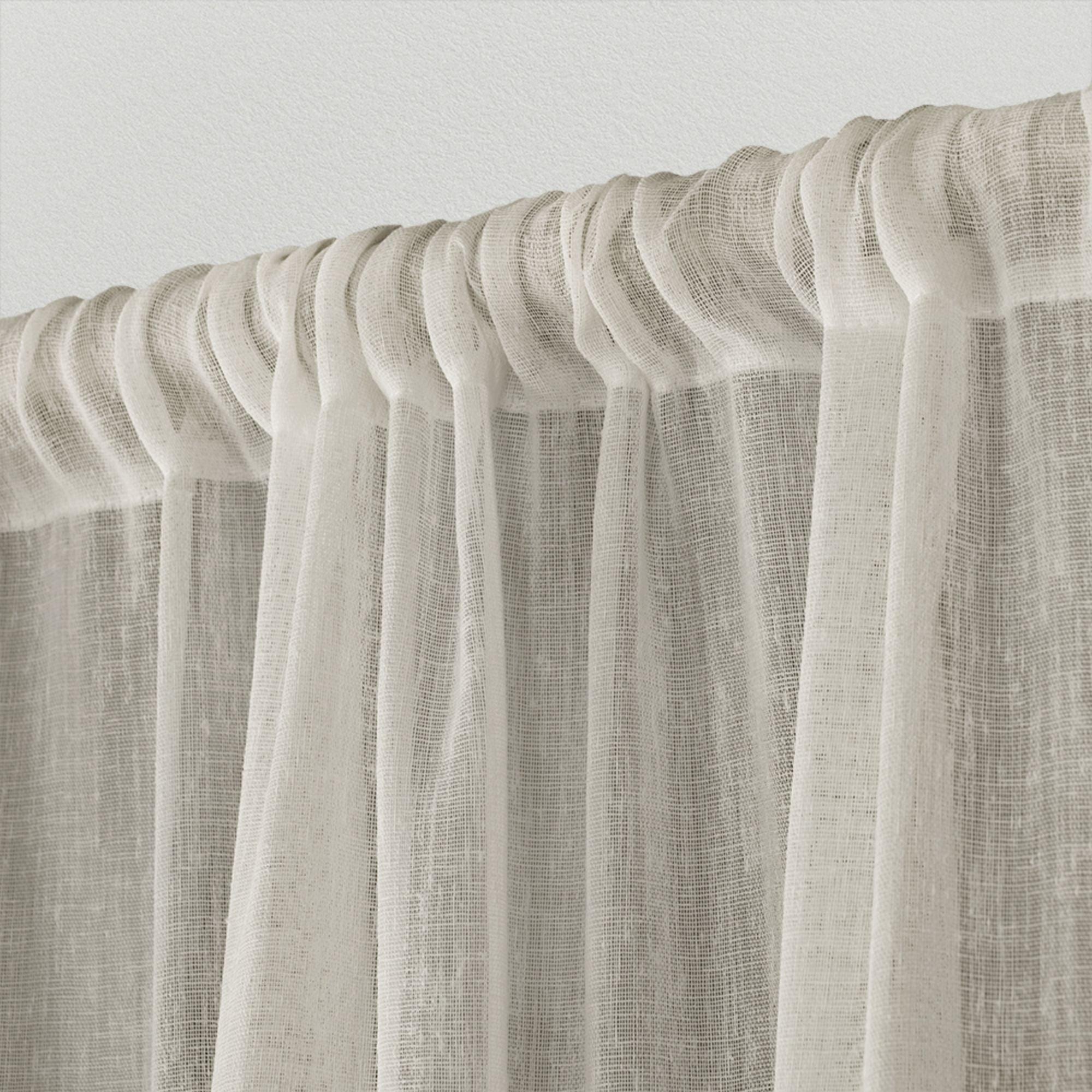 Ati Home Belgian Sheer Window Curtain Panel Pair With Rod Pocket With Belgian Sheer Window Curtain Panel Pairs With Rod Pocket (View 6 of 20)