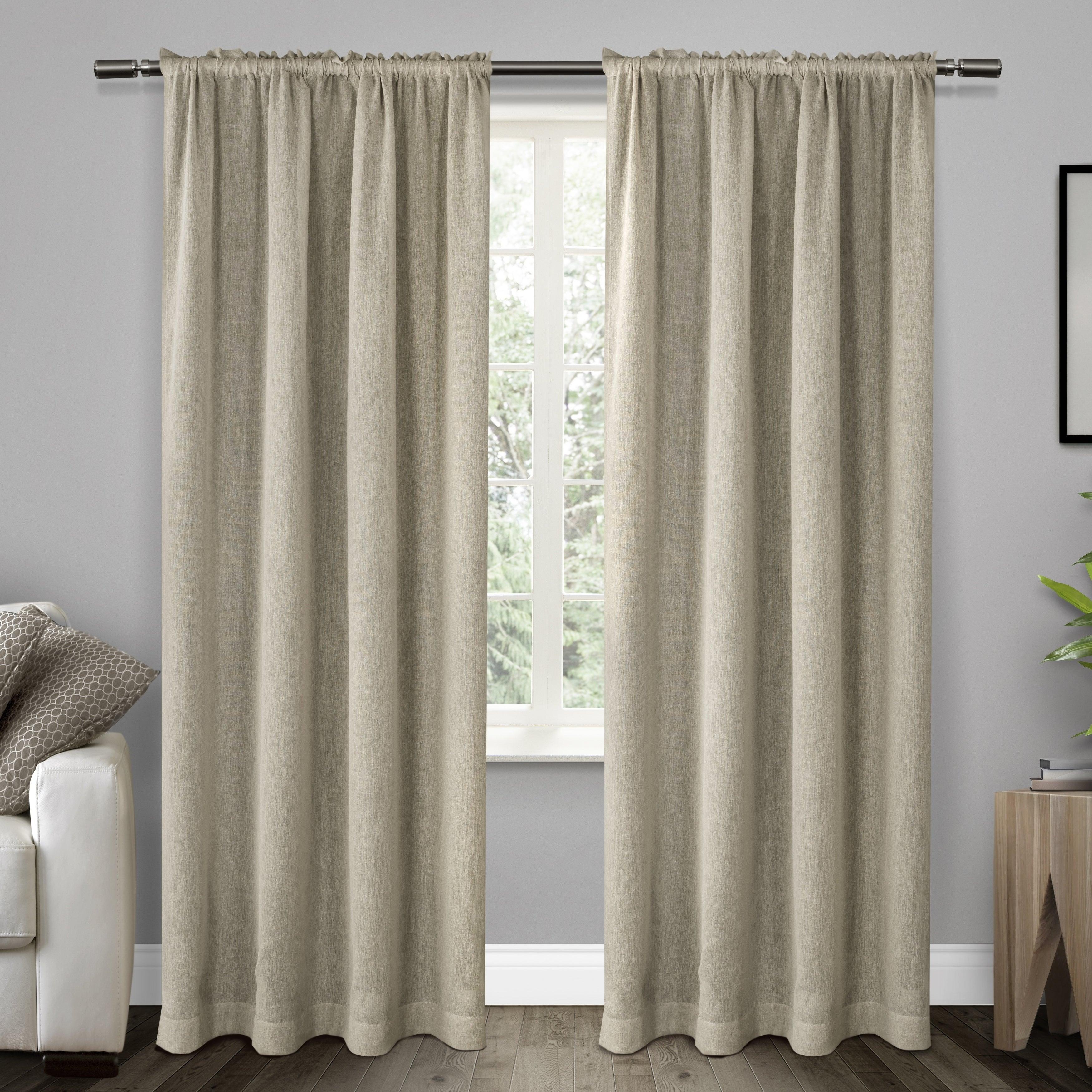 Ati Home Belgian Sheer Window Curtain Panel Pair With Rod Pocket With Belgian Sheer Window Curtain Panel Pairs With Rod Pocket (View 2 of 20)