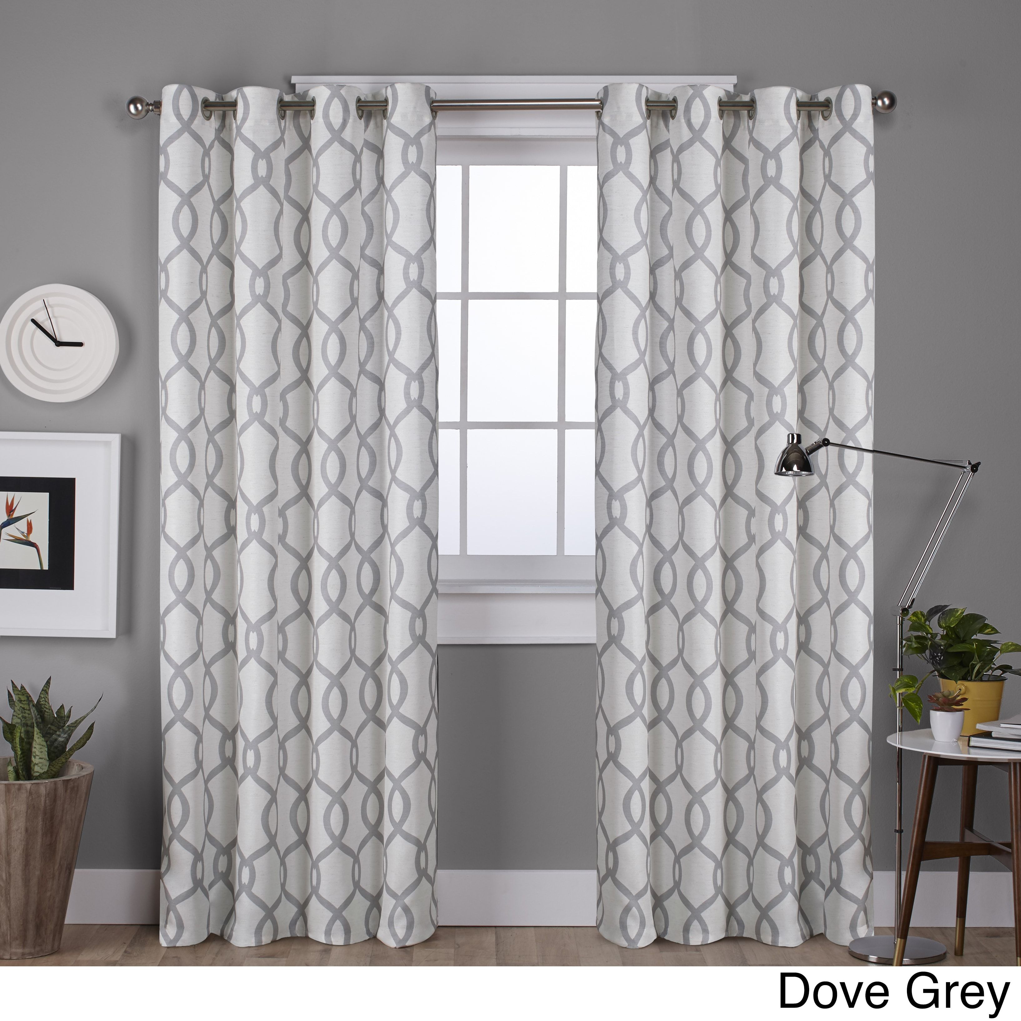 Ati Home Kochi Linen Blend Grommet Top Curtain Panel Pair Pertaining To Archaeo Slub Textured Linen Blend Grommet Top Curtains (Image 15 of 20)