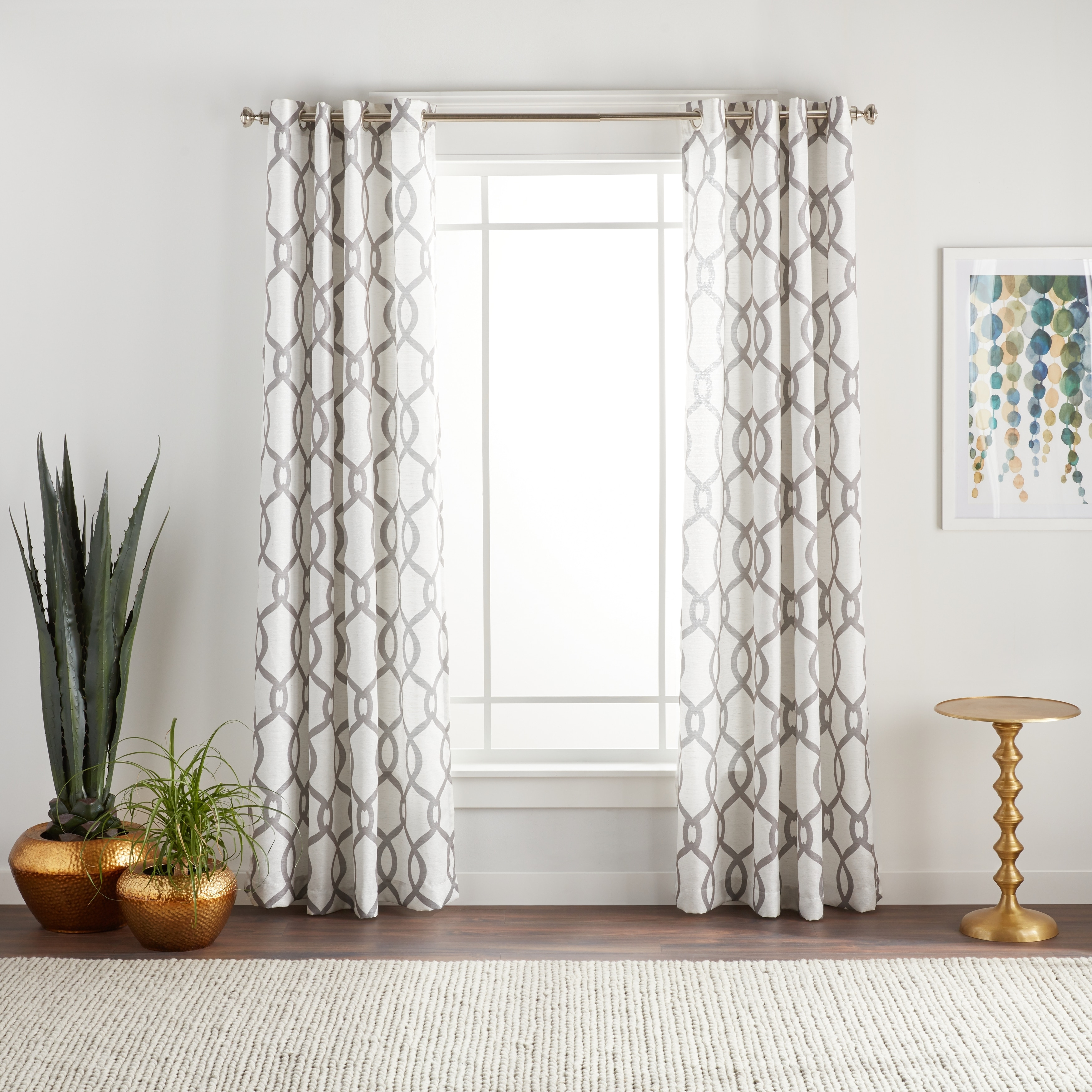 Ati Home Kochi Linen Blend Window Curtain Panel Pair With With Regard To Kochi Linen Blend Window Grommet Top Curtain Panel Pairs (View 10 of 20)
