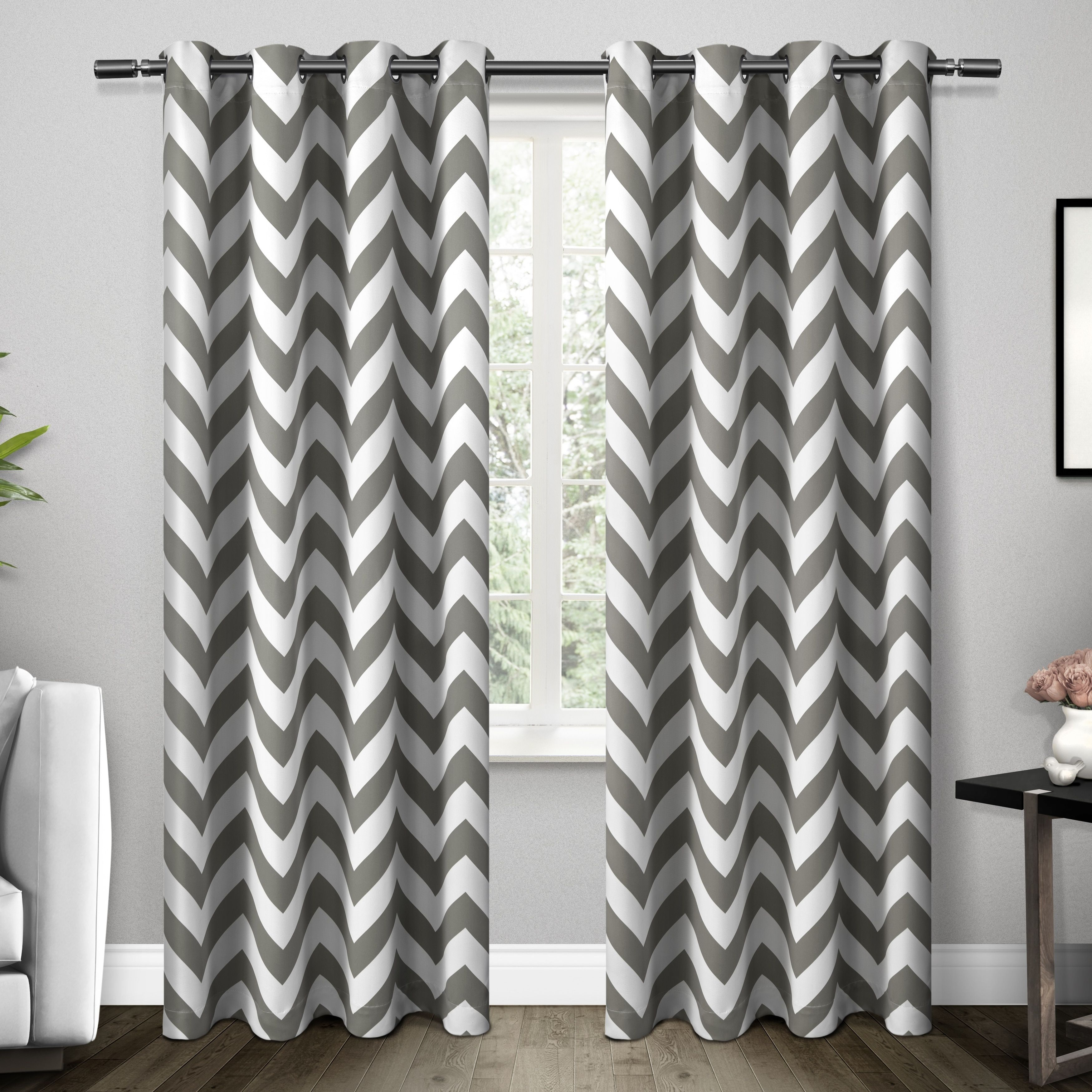 Ati Home Mars Thermal Woven Blackout Grommet Top Curtain Within Thermal Woven Blackout Grommet Top Curtain Panel Pairs (View 19 of 30)