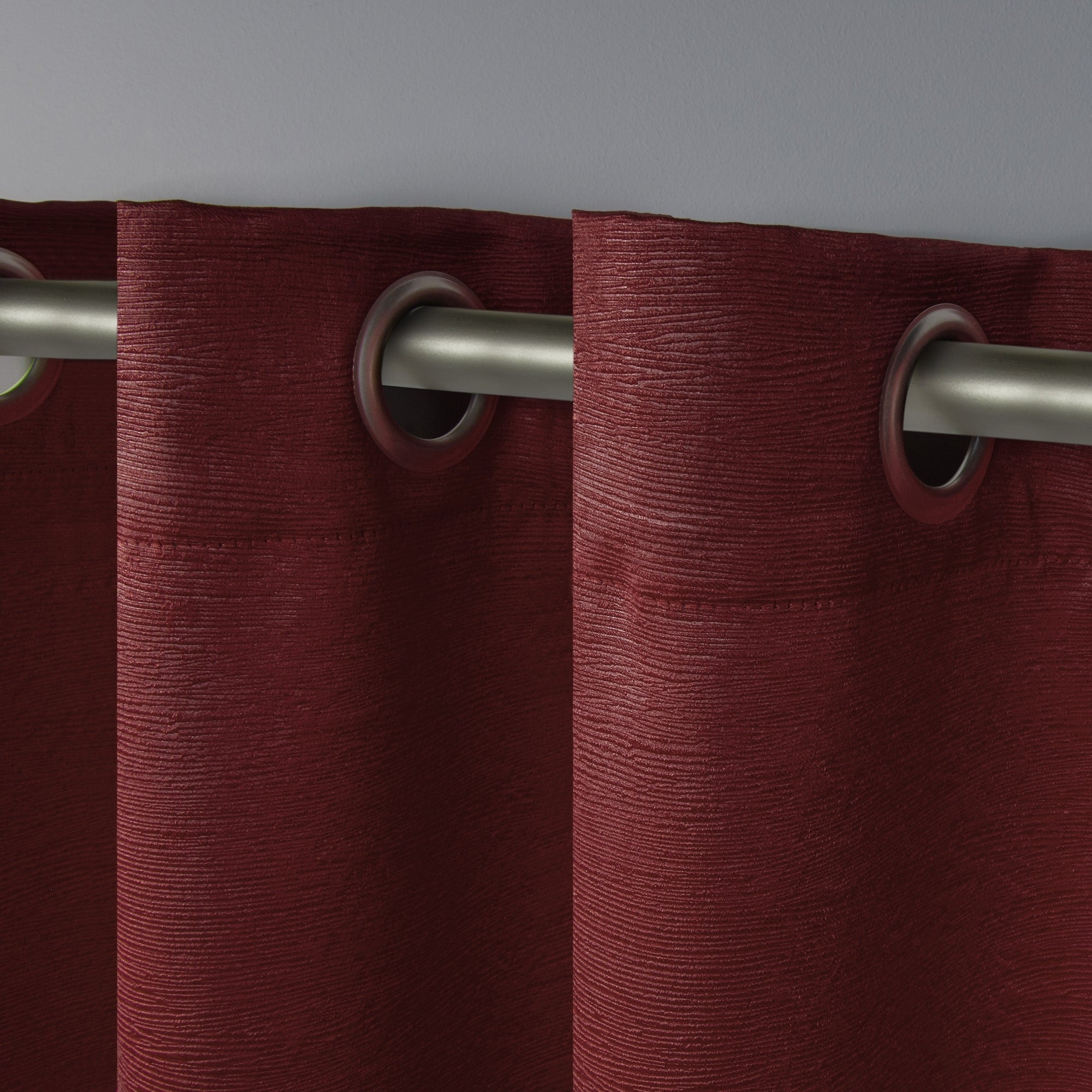 Ati Home Oxford Sateen Woven Blackout Grommet Top Curtain Throughout Oxford Sateen Woven Blackout Grommet Top Curtain Panel Pairs (View 18 of 20)