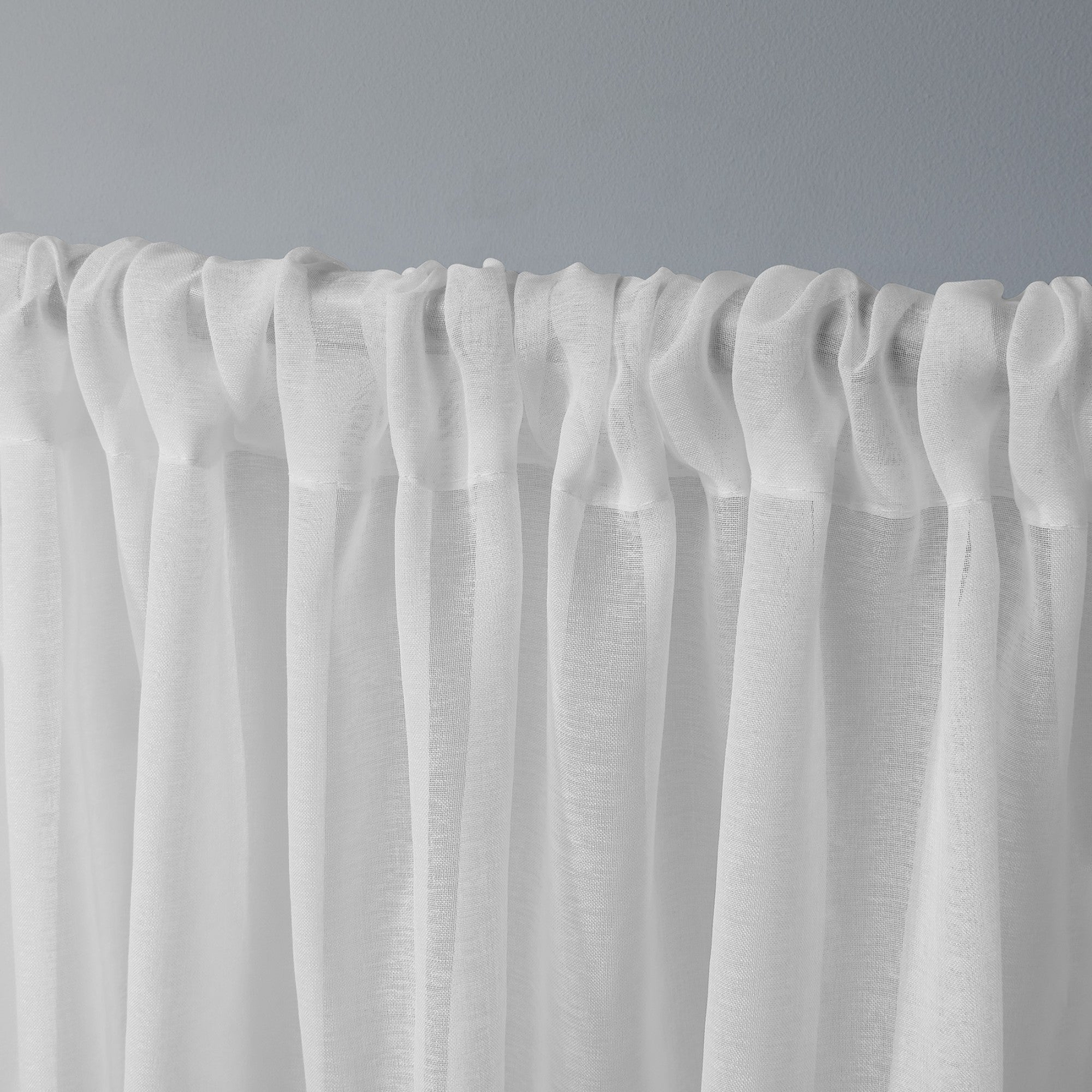 Ati Home Tassels Applique Sheer Rod Pocket Top Curtain Panel Pair Regarding Tassels Applique Sheer Rod Pocket Top Curtain Panel Pairs (View 3 of 30)