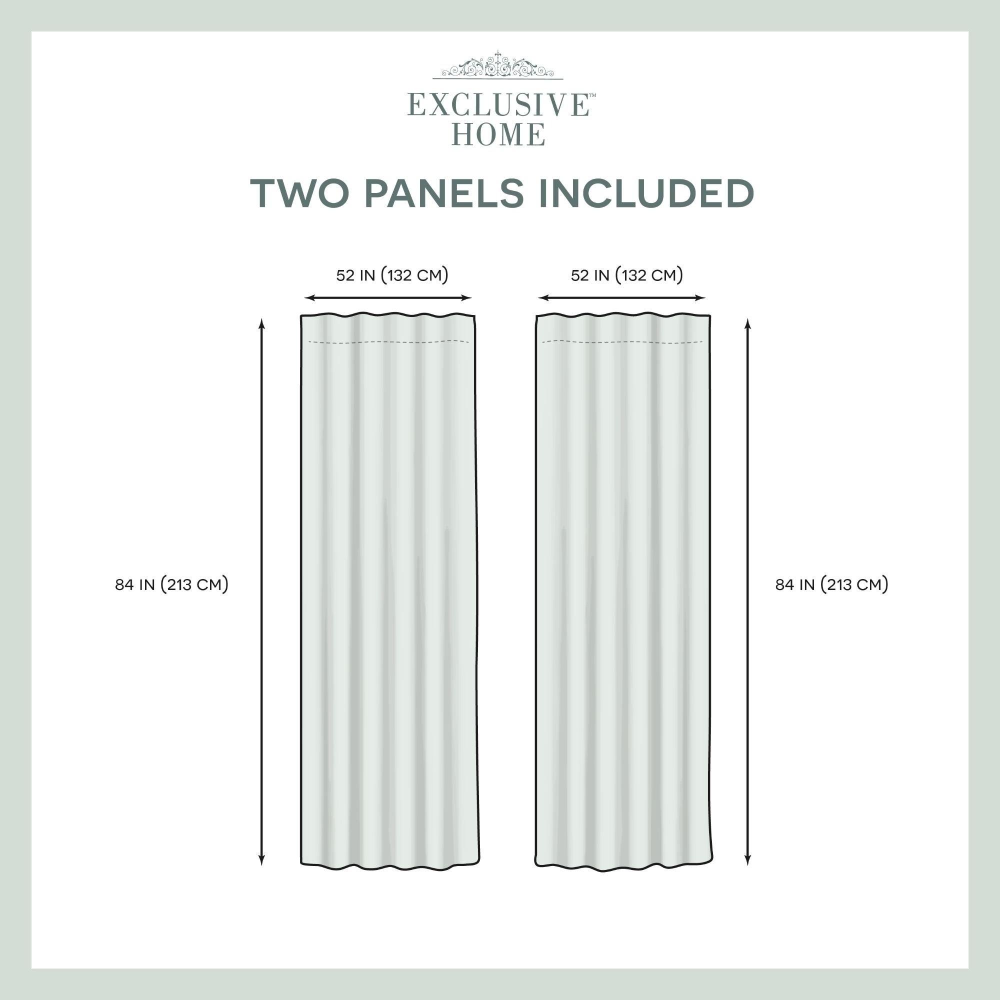 Ati Home Velvet Heavyweight Hidden Tab Top Sheer Panel Pair In Velvet Heavyweight Grommet Top Curtain Panel Pairs (View 10 of 30)