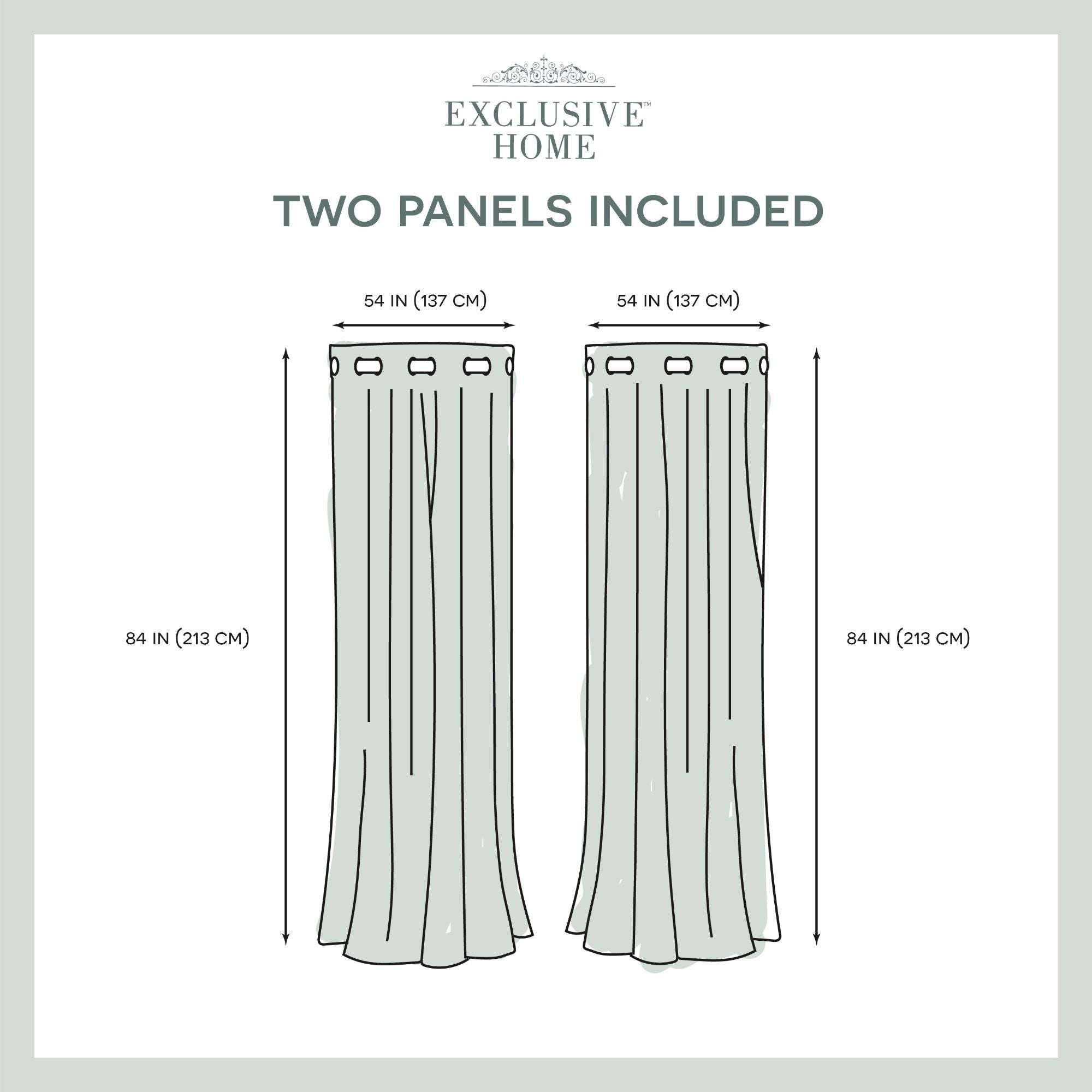 Ati Home Wilshire Burnout Grommet Top Curtain Panel Pair In Wilshire Burnout Grommet Top Curtain Panel Pairs (View 7 of 30)