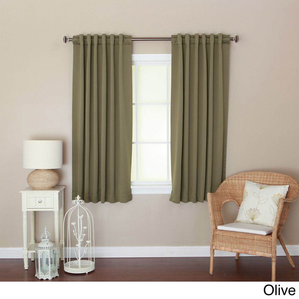Aurora Home Insulated 72 Inch Thermal Blackout Curtain Panel Throughout Solid Insulated Thermal Blackout Curtain Panel Pairs (View 11 of 30)