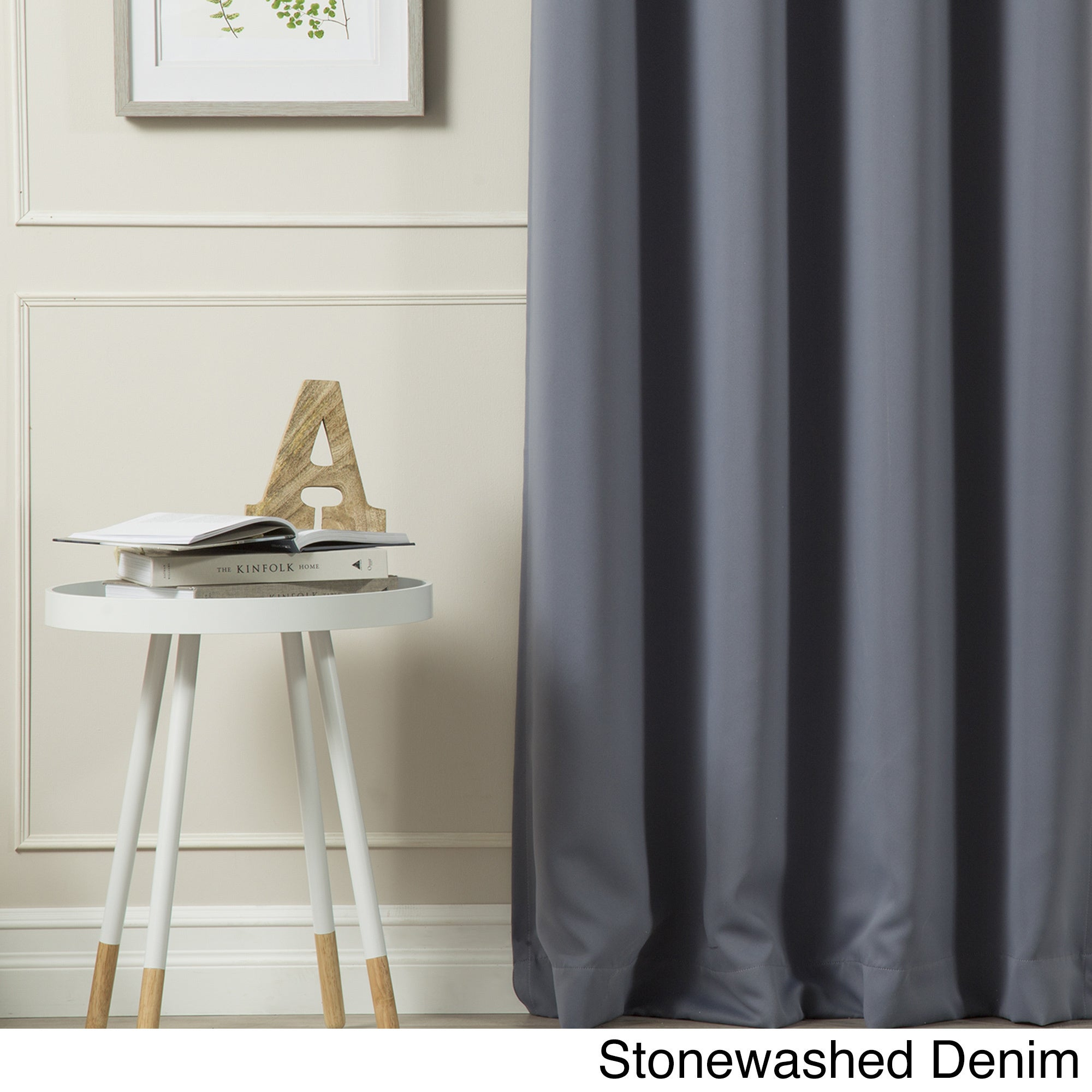 Aurora Home Silvertone Grommet Top Thermal Insulated Blackout Curtain Panel Pair For Silvertone Grommet Thermal Insulated Blackout Curtain Panel Pairs (View 13 of 30)