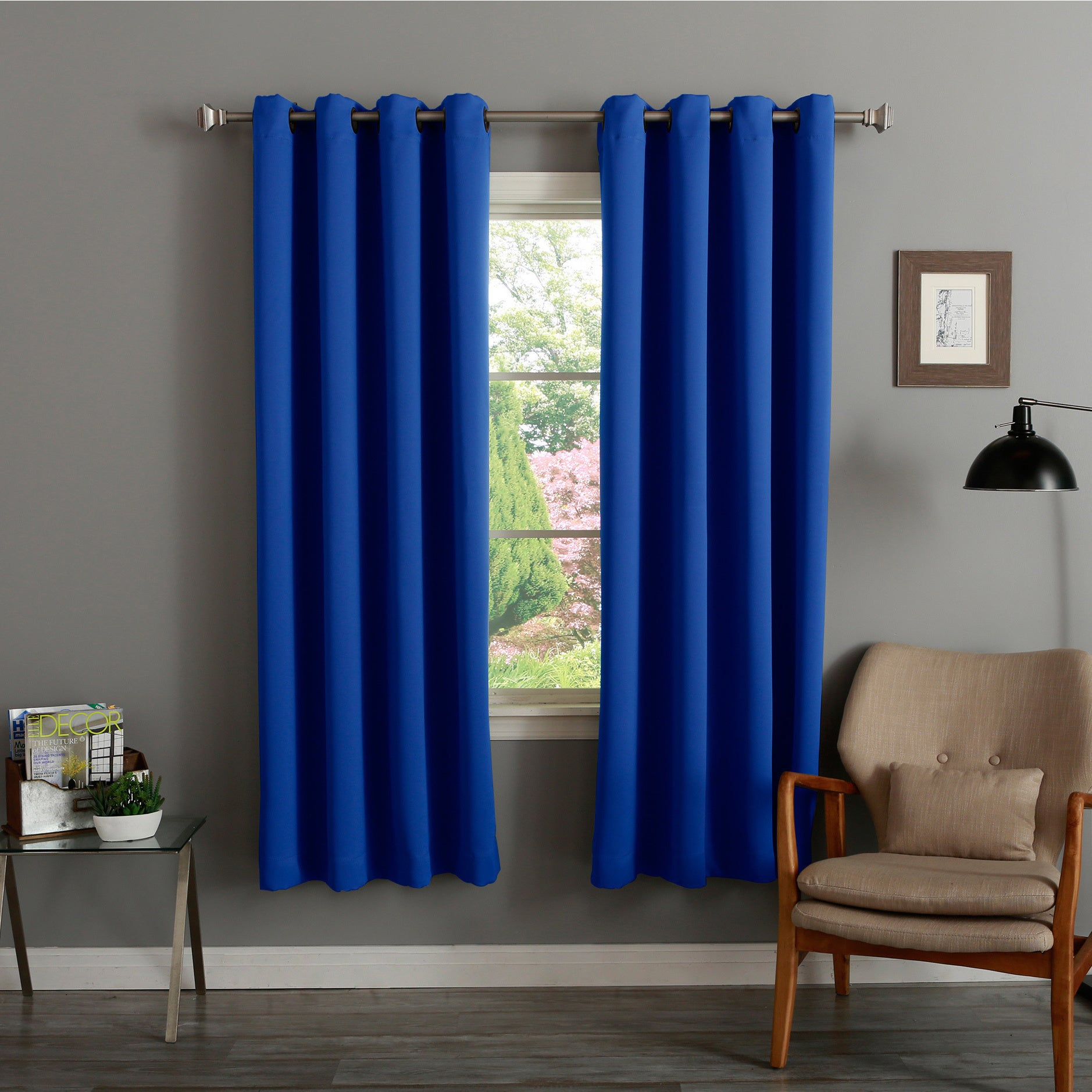 Aurora Home Thermal Insulated 72 Inch Blackout Curtain Pair – 52 X 72 With Regard To Thermal Insulated Blackout Curtain Pairs (View 10 of 30)
