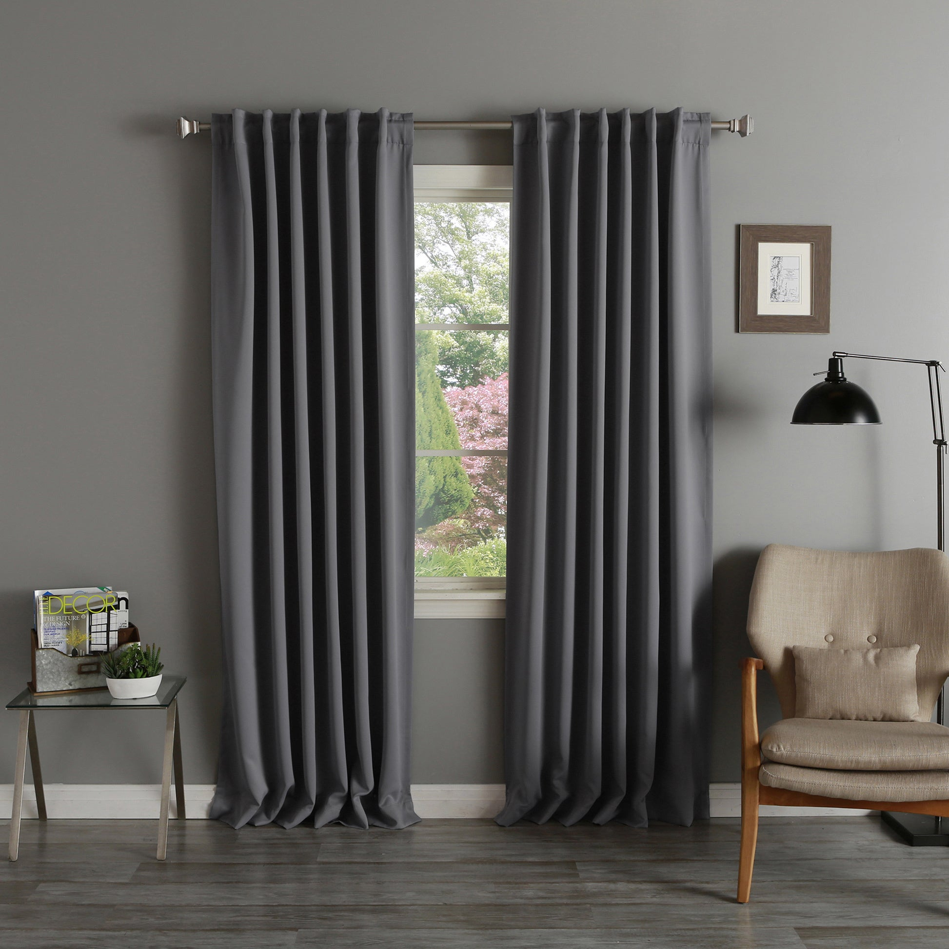 Featured Photo of Thermal Rod Pocket Blackout Curtain Panel Pairs