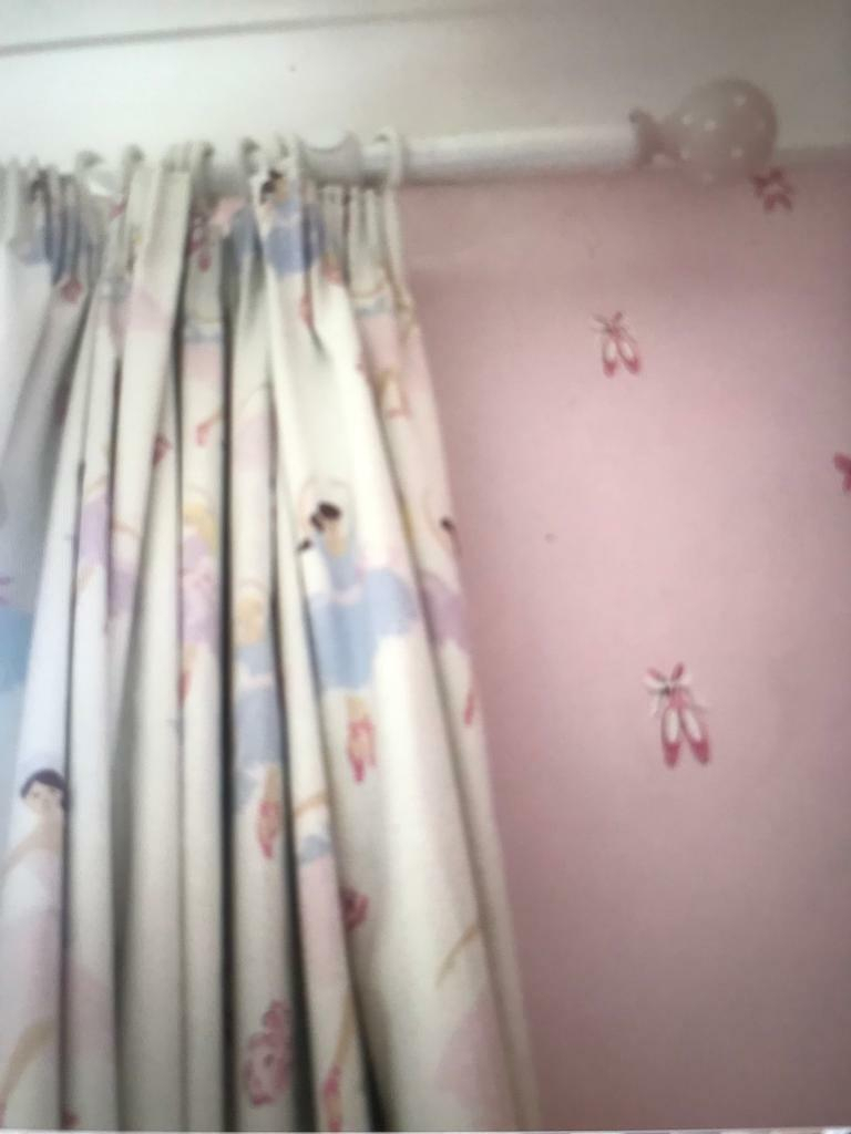 Ballerina Laura Ashley Blackout Curtains | In Mill Hill, London | Gumtree Pertaining To London Blackout Panel Pair (View 9 of 20)
