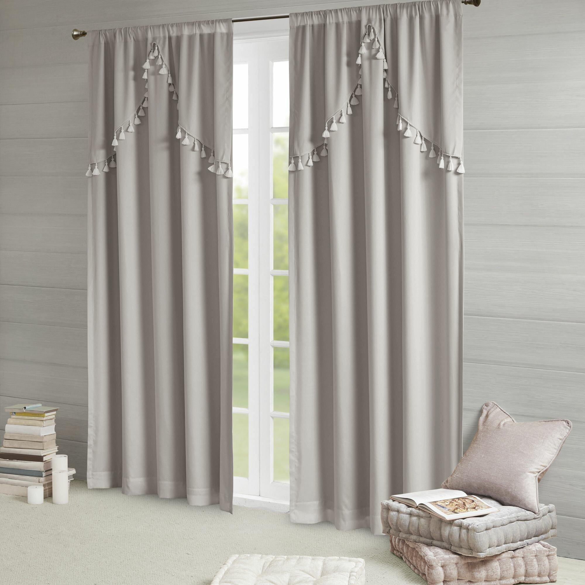Barclay Solid Blackout Rod Pocket Single Curtain Panel Pertaining To Single Curtain Panels (View 22 of 31)